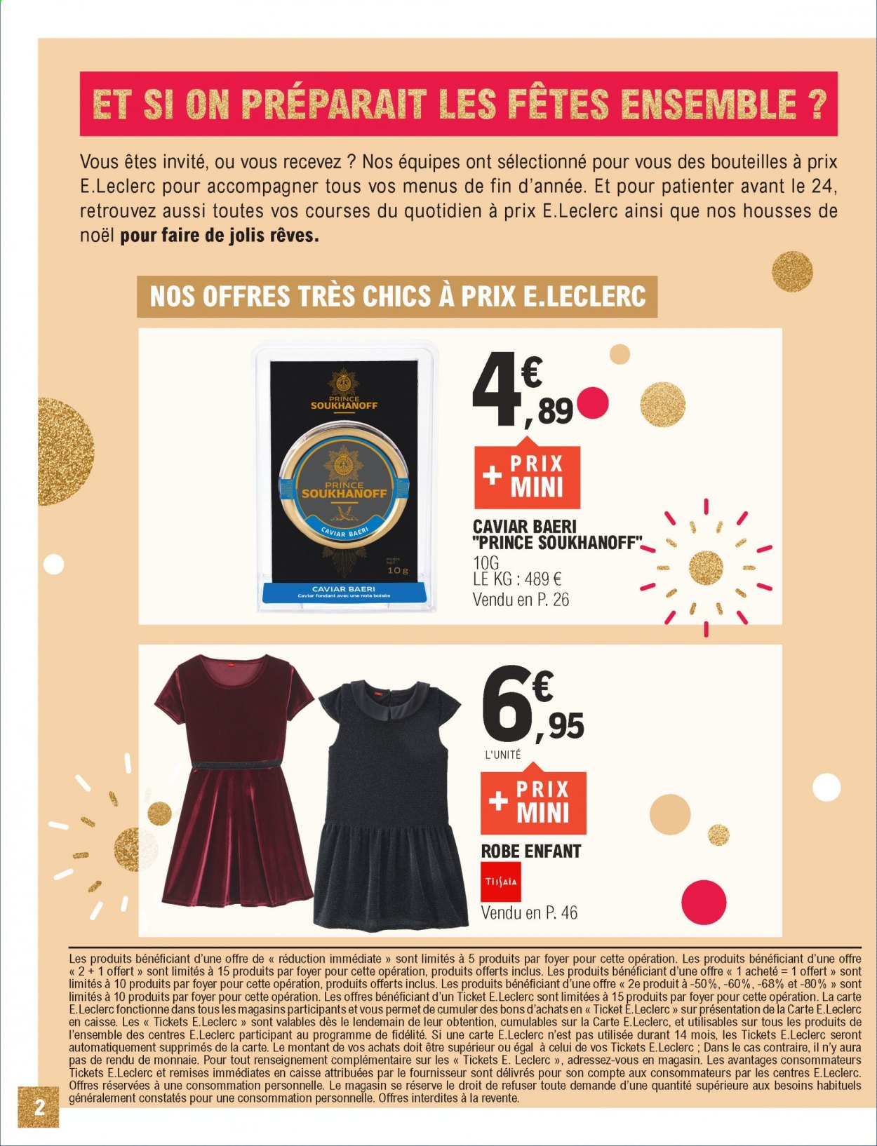 Catalogue E.Leclerc - 01.12.2020 - 12.12.2020. Page 2.