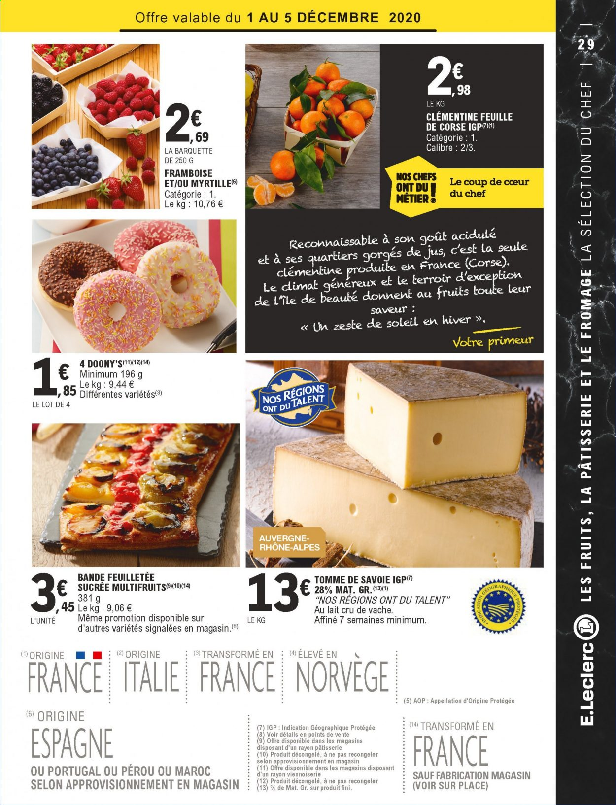 Catalogue E.Leclerc - 01.12.2020 - 12.12.2020. Page 29.