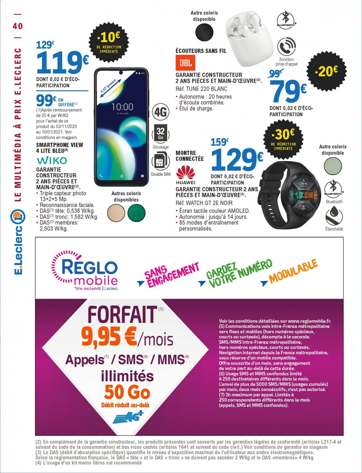 Catalogue E.Leclerc - 01.12.2020 - 12.12.2020. Page 40.