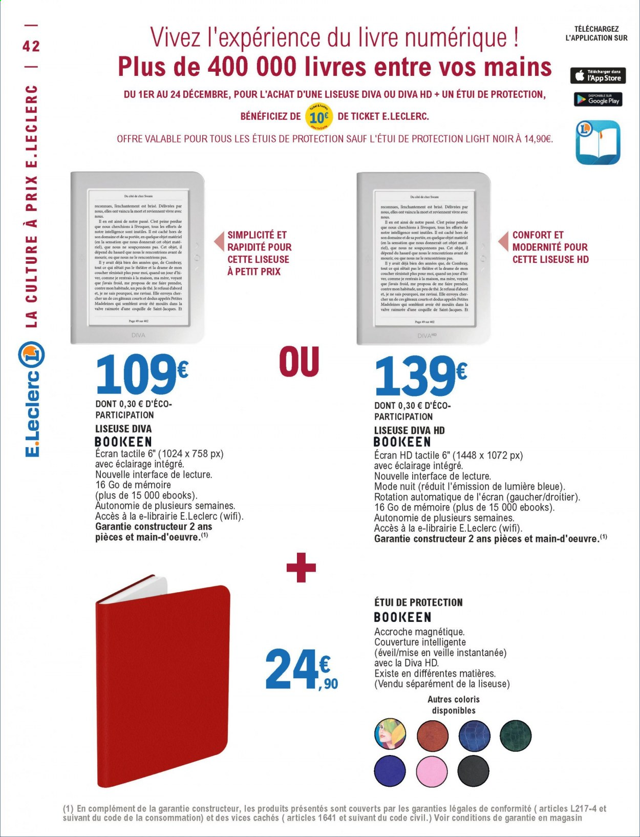 Catalogue E.Leclerc - 01.12.2020 - 12.12.2020. Page 42.