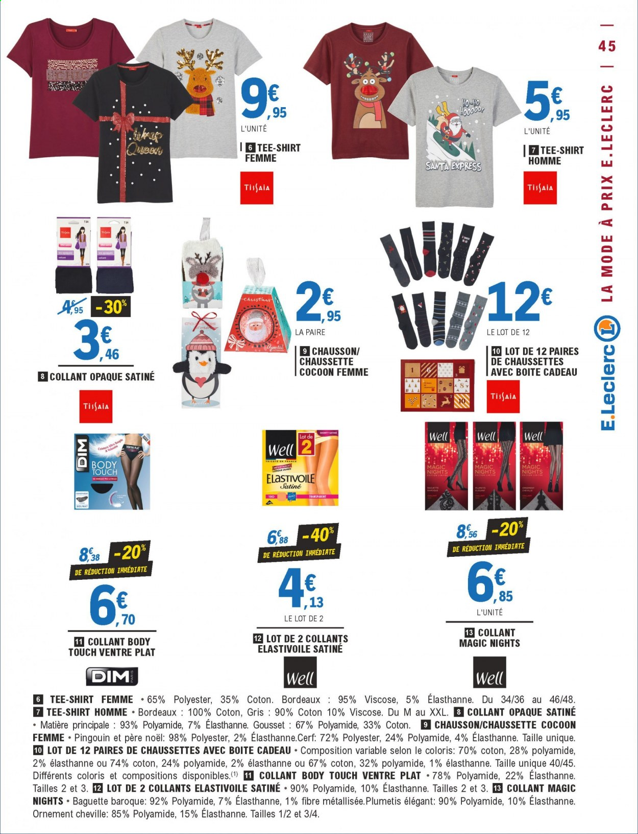 Catalogue E.Leclerc - 01.12.2020 - 12.12.2020. Page 45.