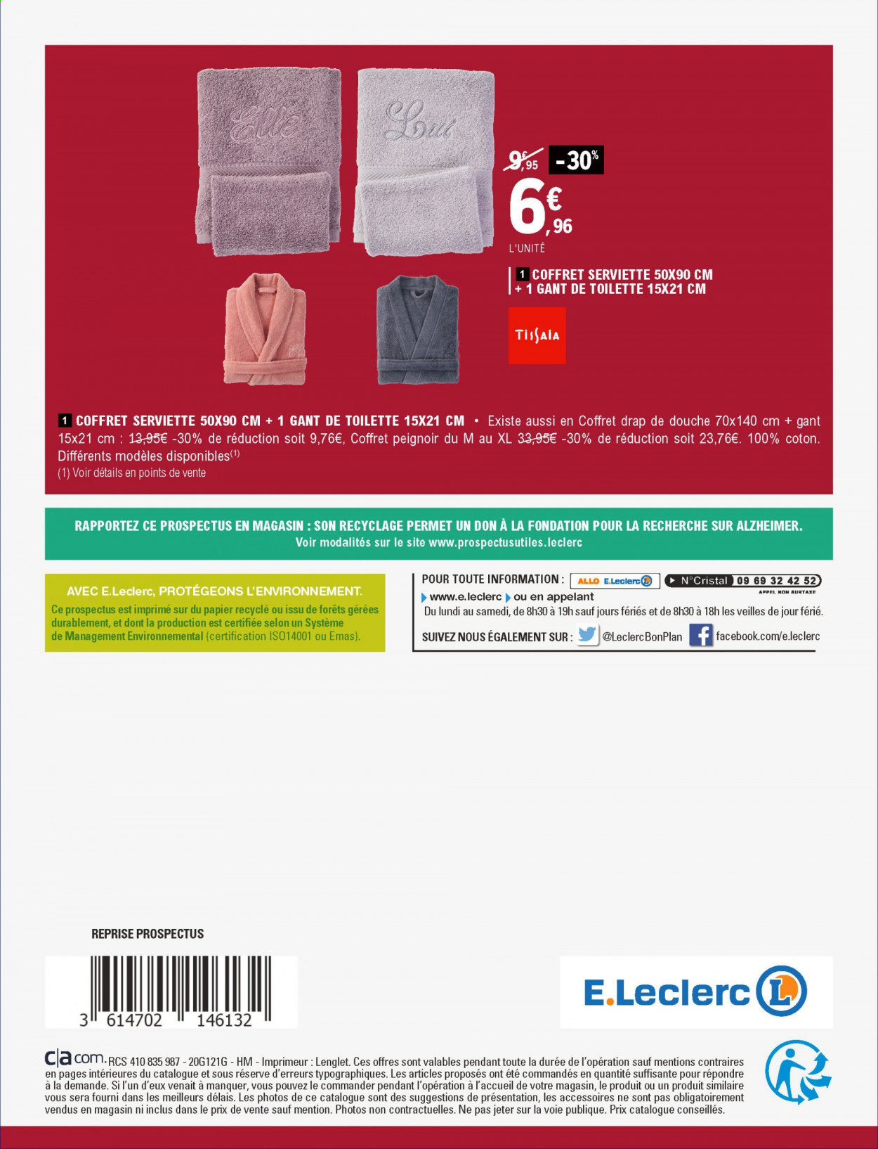 Catalogue E.Leclerc - 01.12.2020 - 12.12.2020. Page 48.