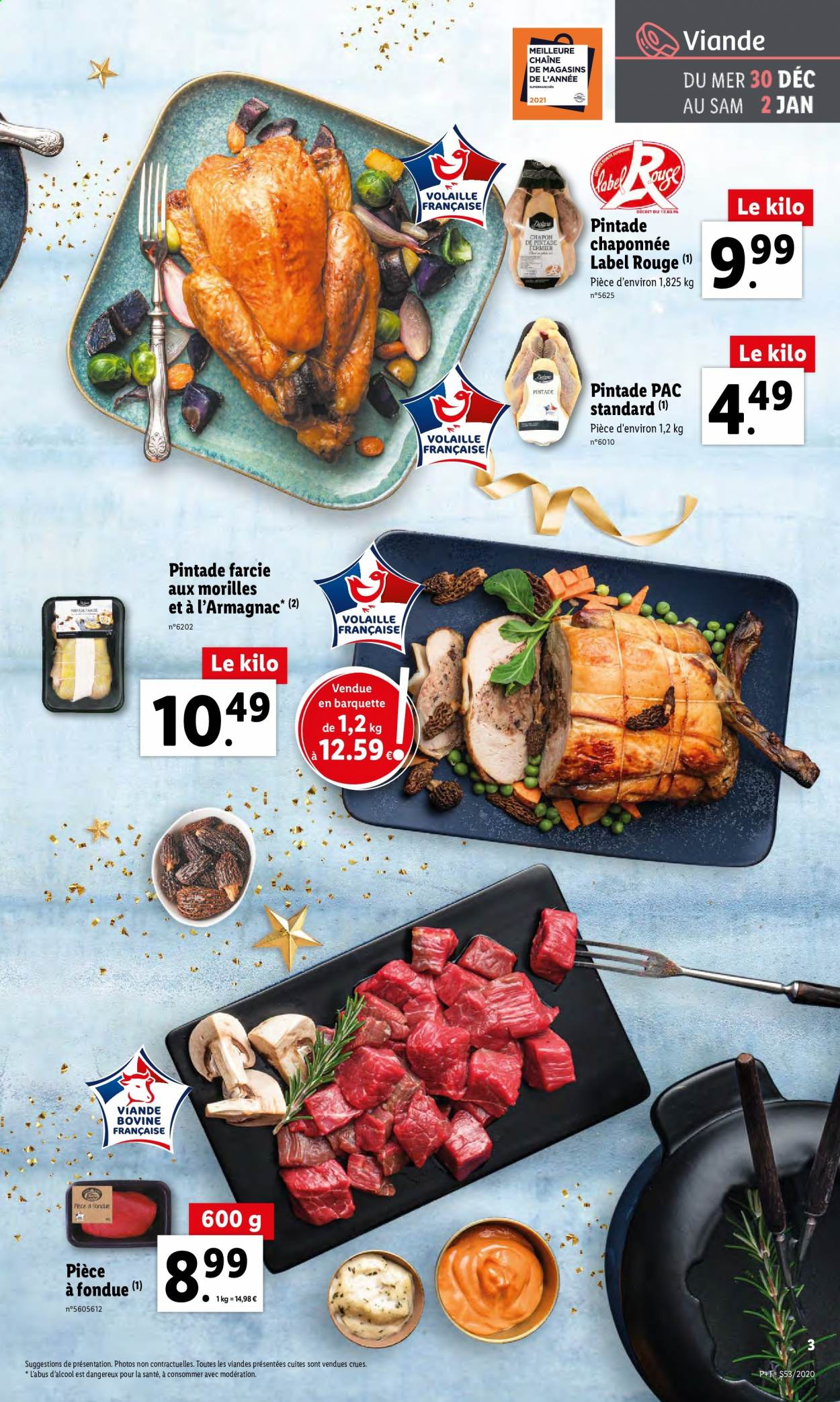 Catalogue Lidl - 30.12.2020 - 05.01.2021. Page 3.