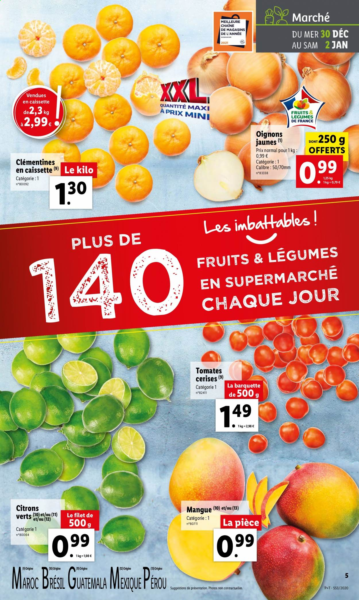 Catalogue Lidl - 30.12.2020 - 05.01.2021. Page 5.