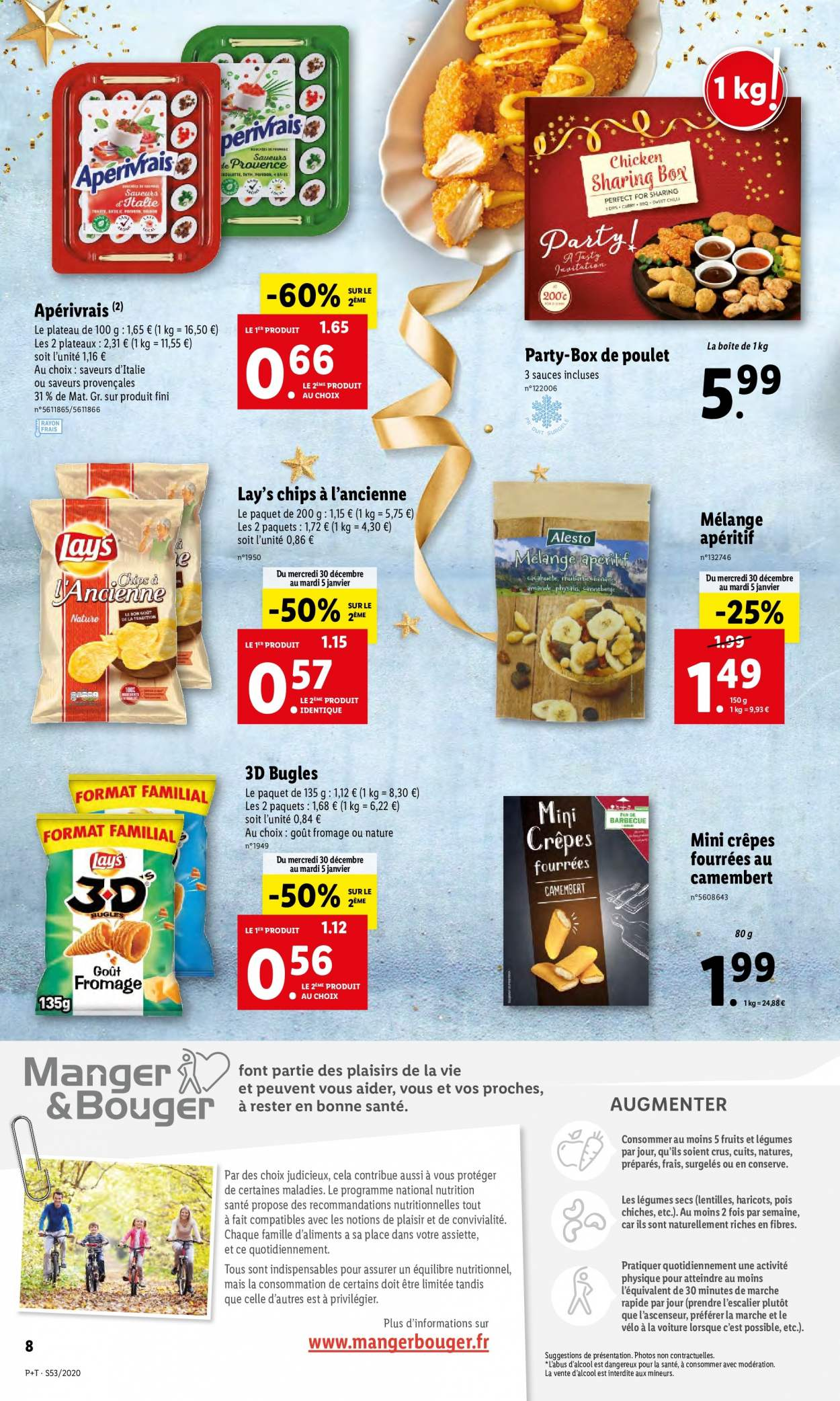 Catalogue Lidl - 30.12.2020 - 05.01.2021. Page 8.