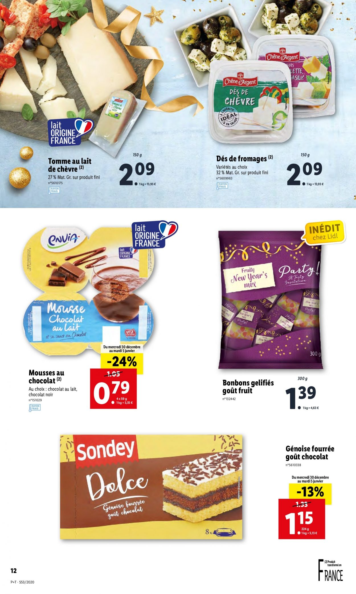 Catalogue Lidl - 30.12.2020 - 05.01.2021. Page 12.