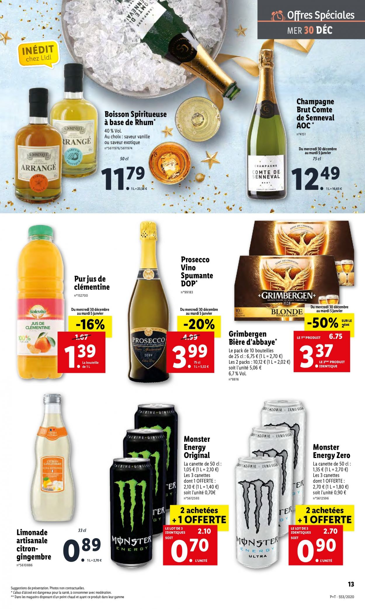 Catalogue Lidl - 30.12.2020 - 05.01.2021. Page 13.