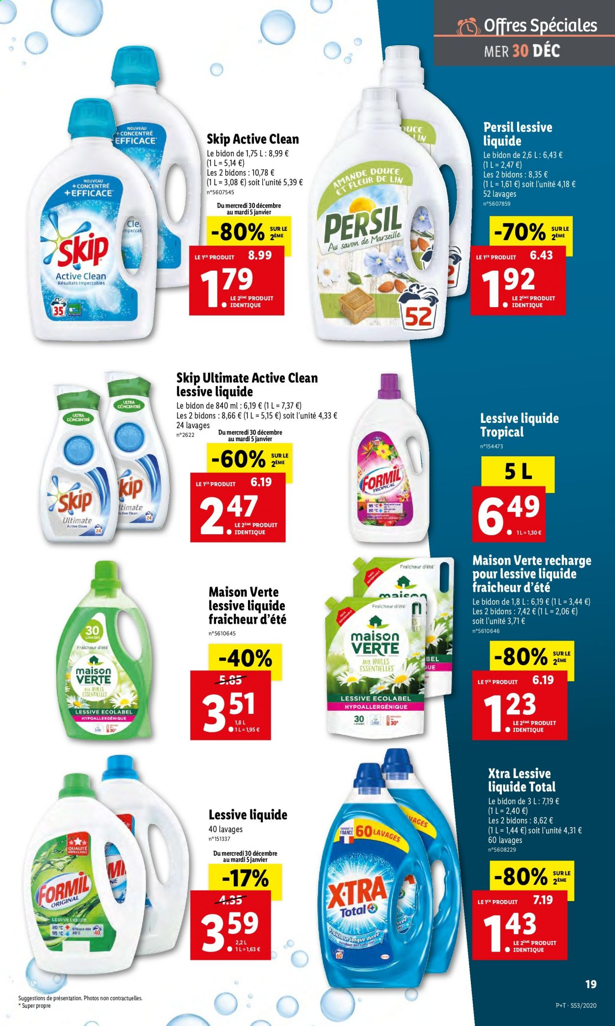 Catalogue Lidl - 30.12.2020 - 05.01.2021. Page 19.