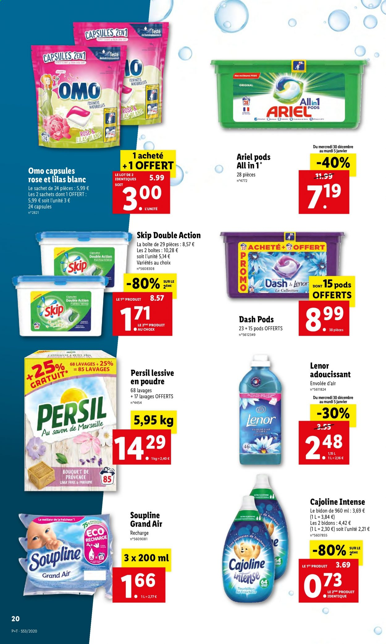 Catalogue Lidl - 30.12.2020 - 05.01.2021. Page 20.