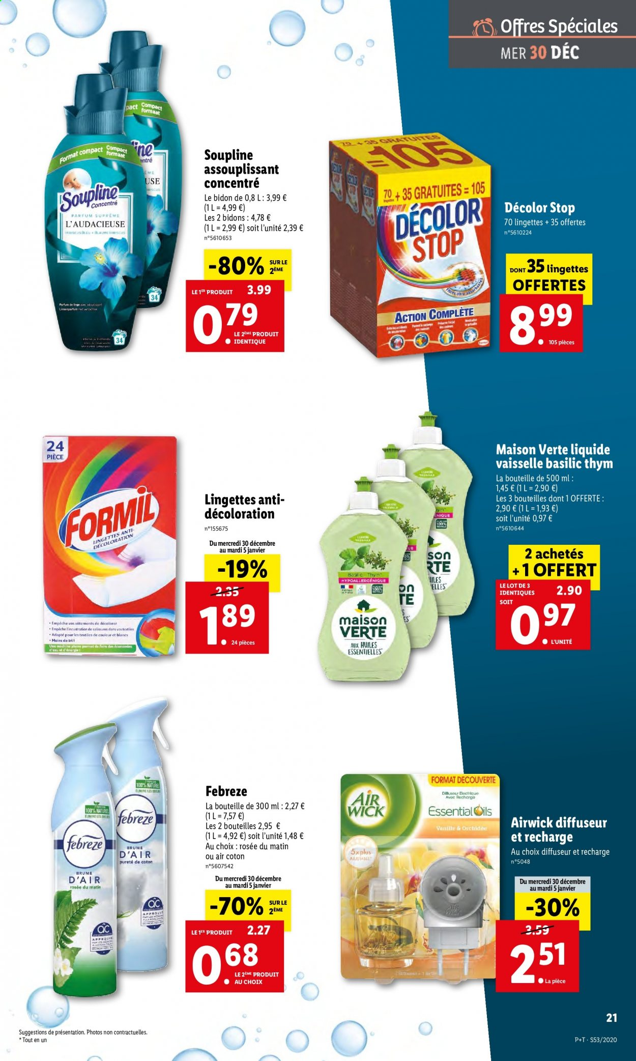 Catalogue Lidl - 30.12.2020 - 05.01.2021. Page 21.