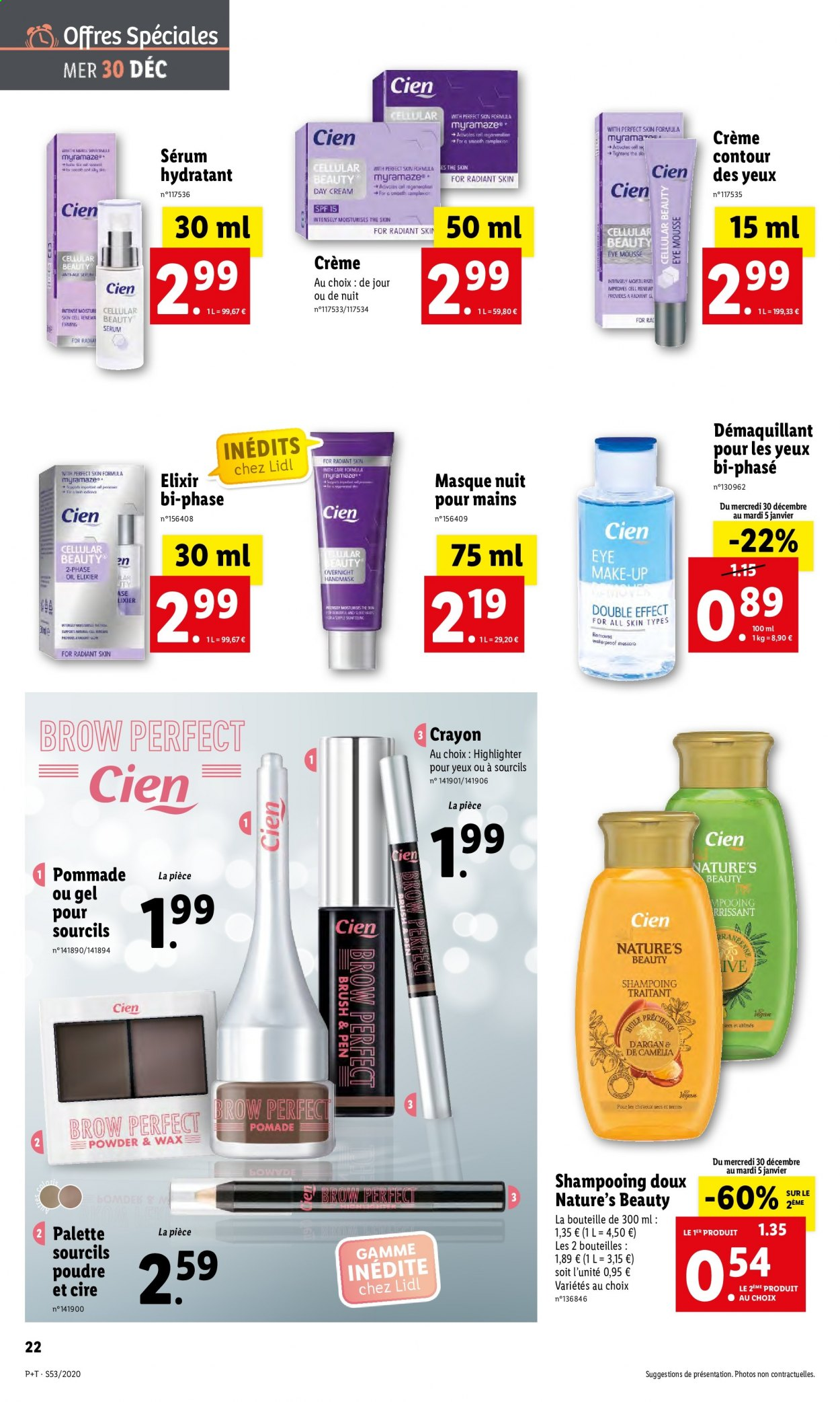Catalogue Lidl - 30.12.2020 - 05.01.2021. Page 22.