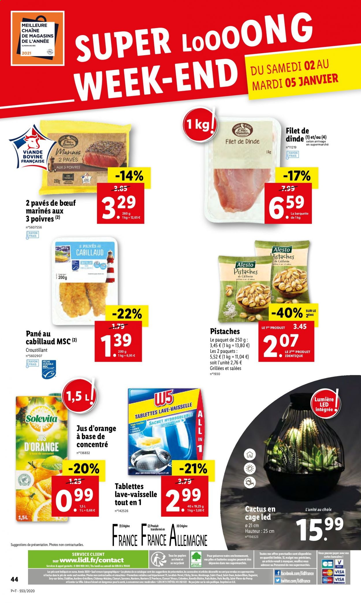 Catalogue Lidl - 30.12.2020 - 05.01.2021. Page 46.