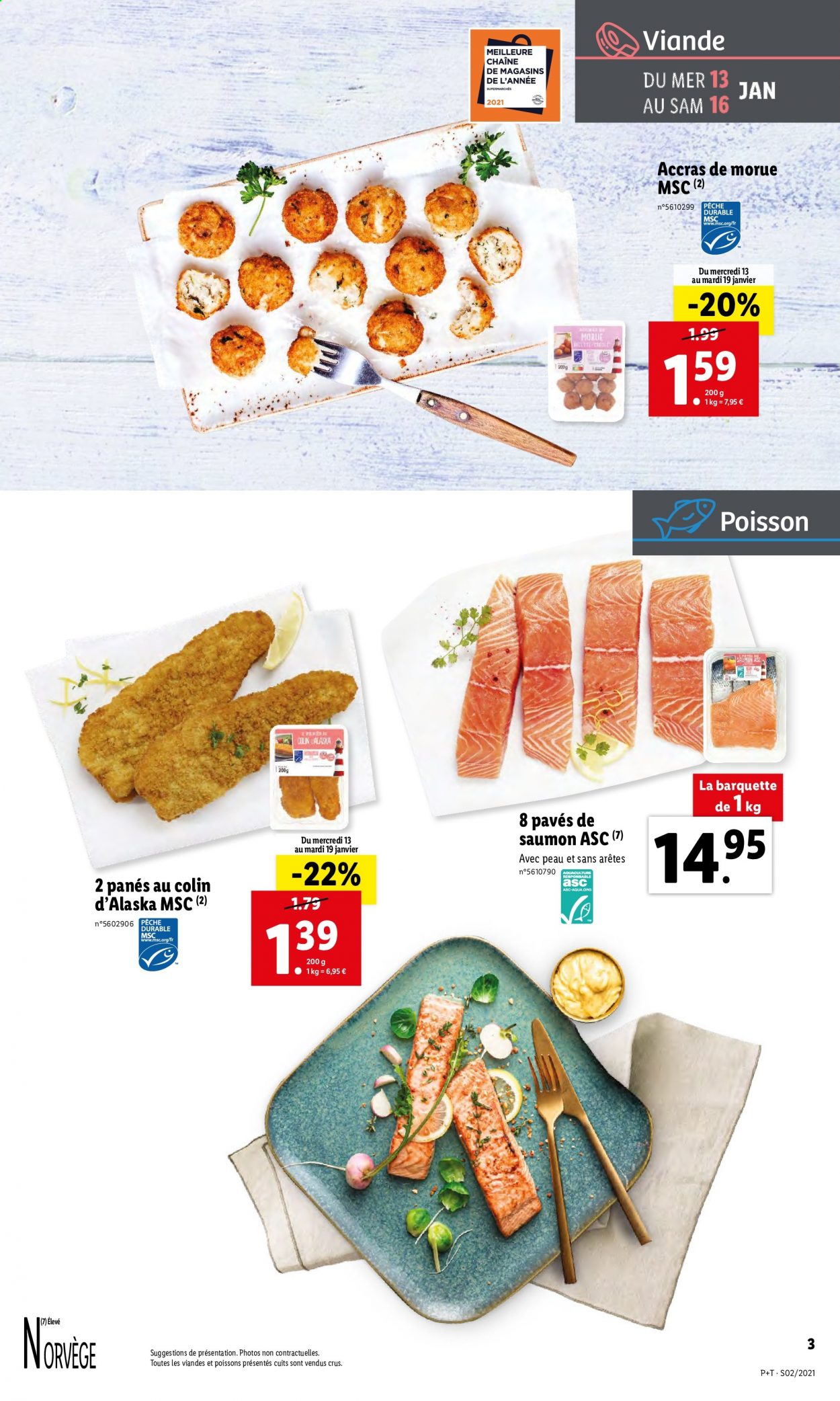 Catalogue Lidl - 13.01.2021 - 19.01.2021. Page 3.