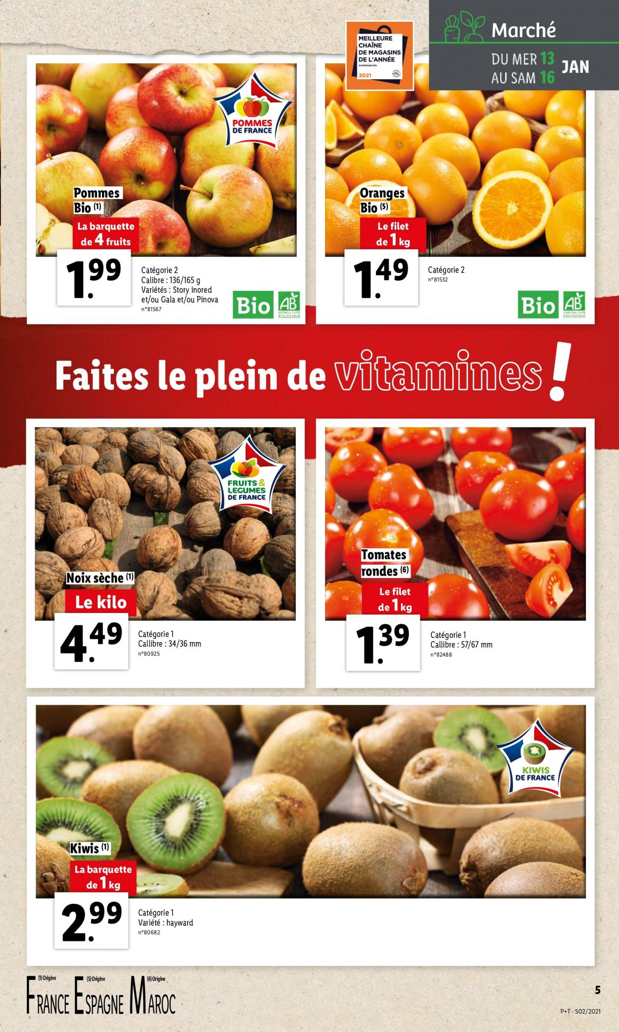 Catalogue Lidl - 13.01.2021 - 19.01.2021. Page 5.