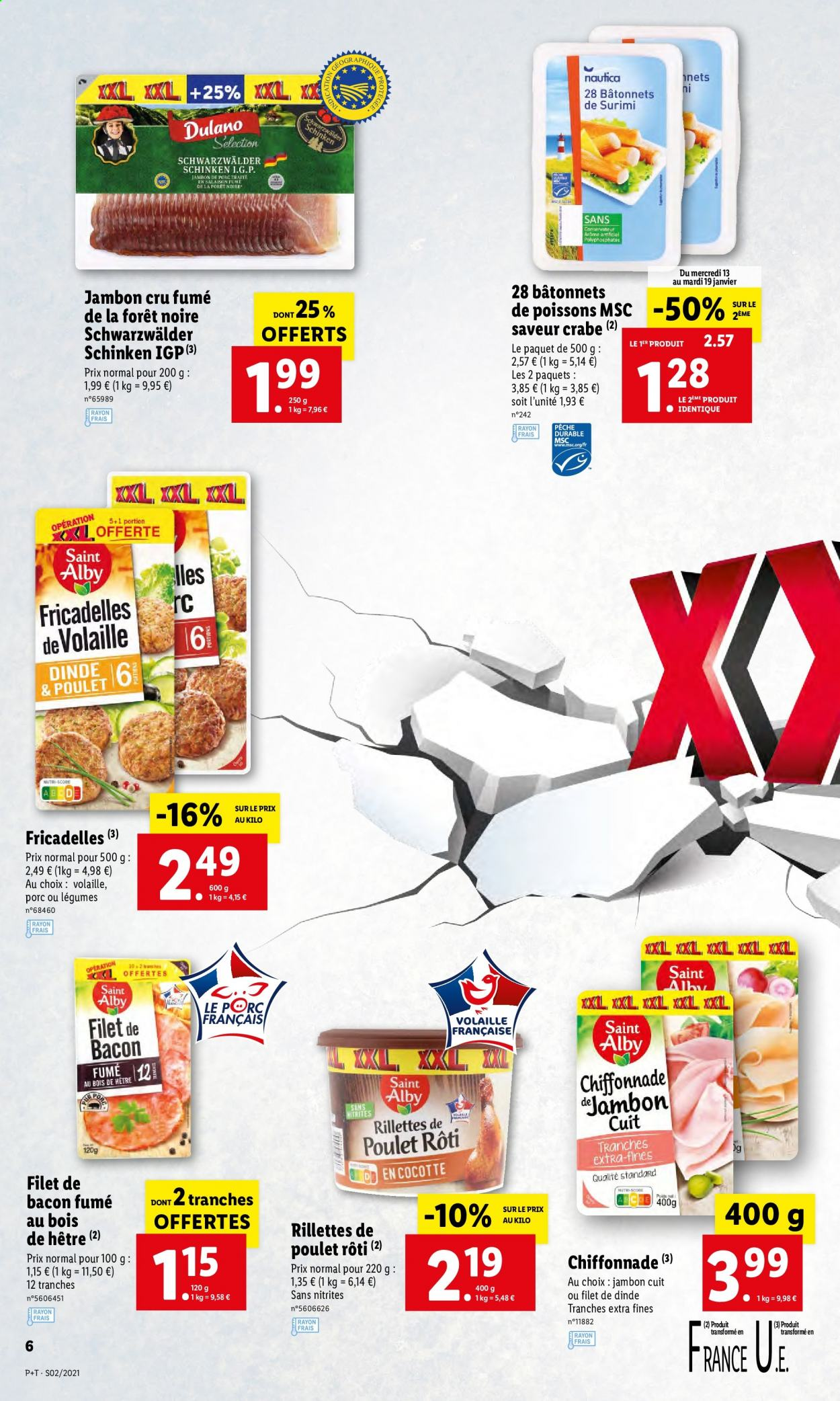 Catalogue Lidl - 13.01.2021 - 19.01.2021. Page 6.
