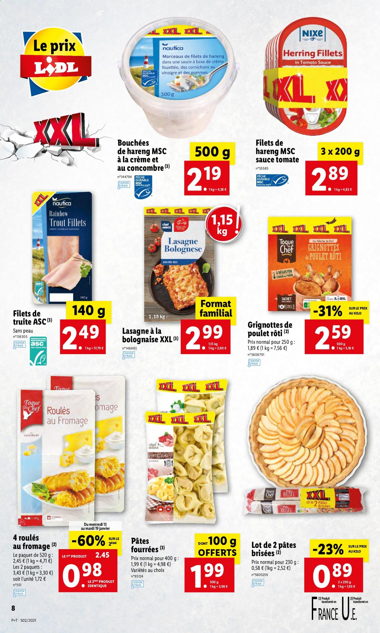 Catalogue Lidl - 13.01.2021 - 19.01.2021. Page 8.