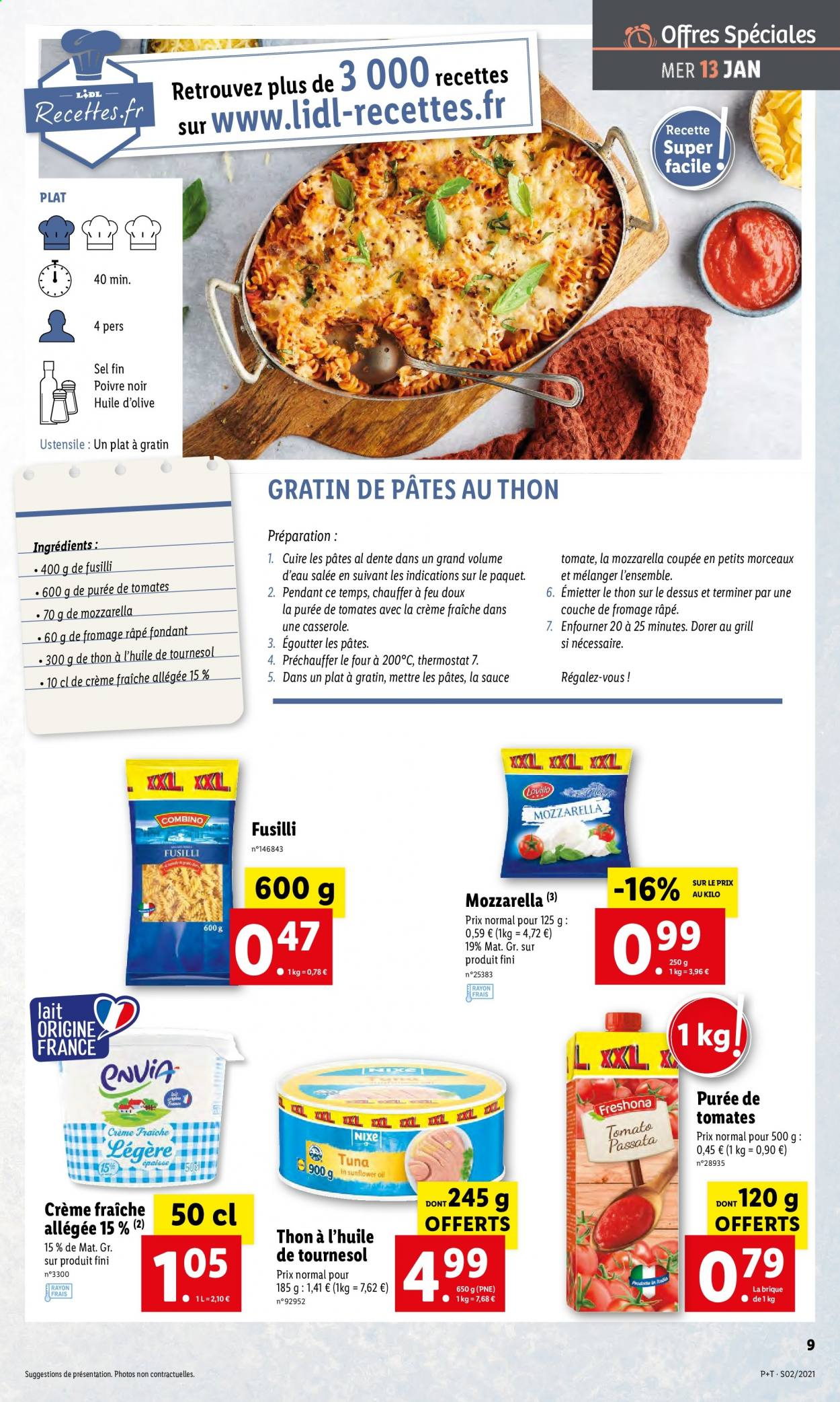 Catalogue Lidl - 13.01.2021 - 19.01.2021. Page 9.