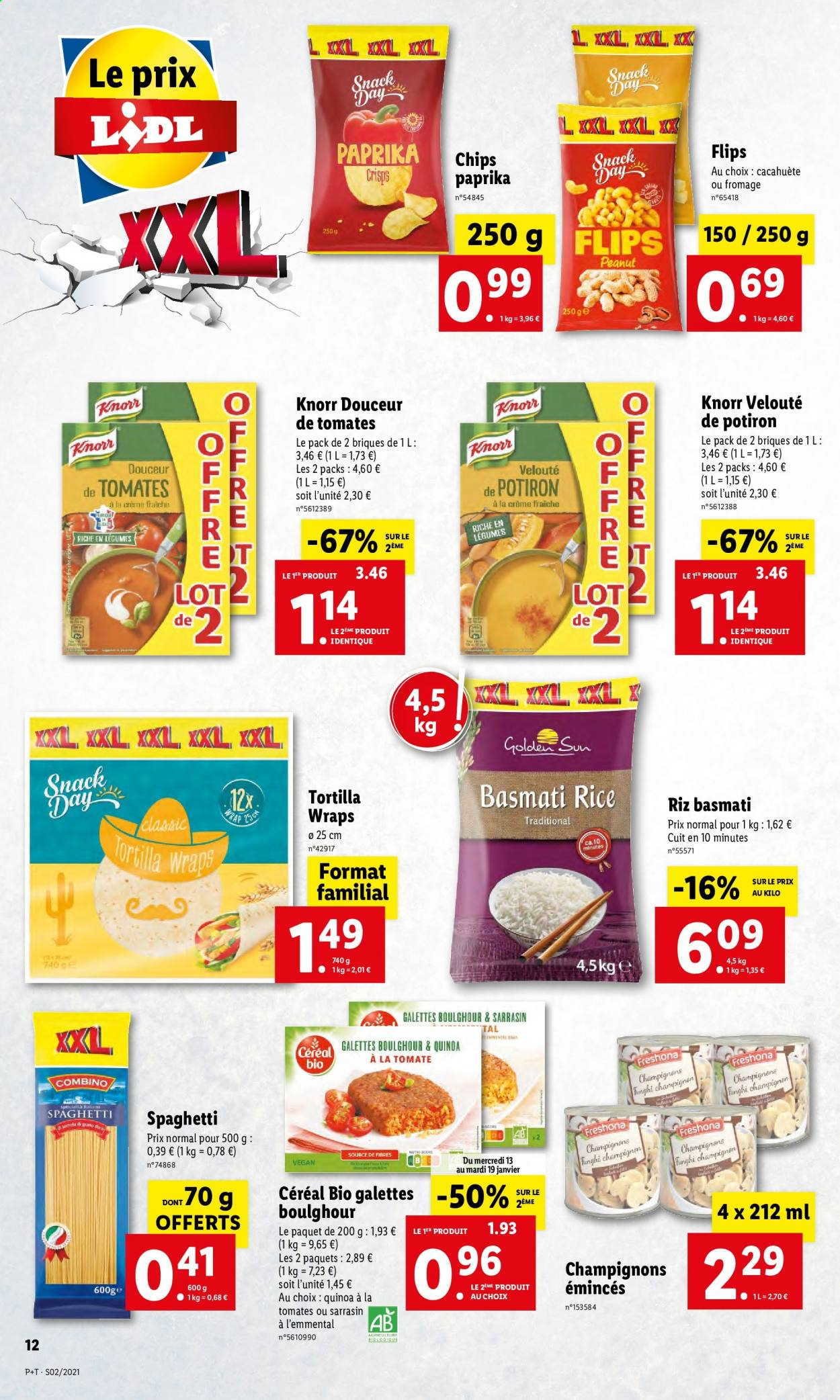 Catalogue Lidl - 13.01.2021 - 19.01.2021. Page 12.