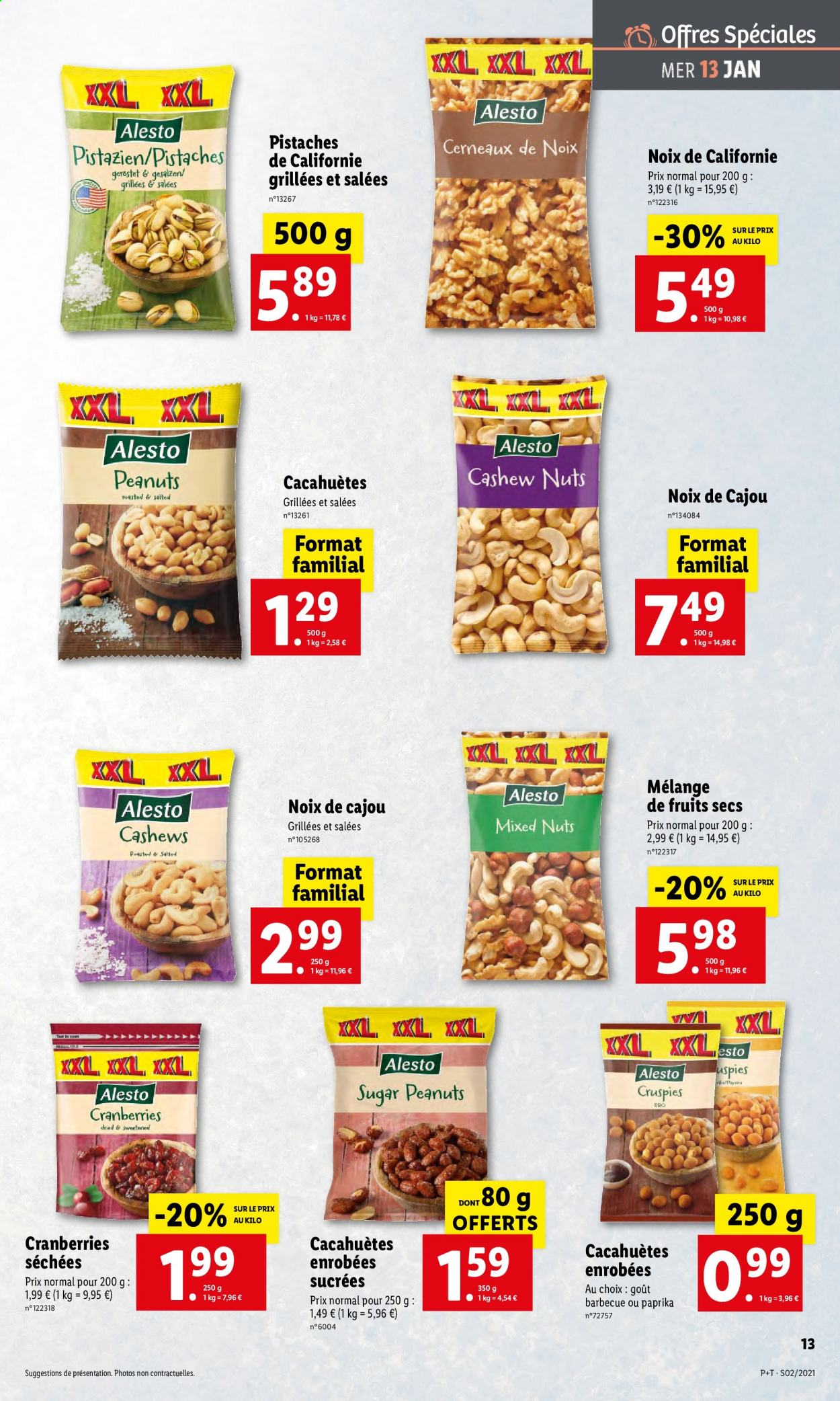 Catalogue Lidl - 13.01.2021 - 19.01.2021. Page 13.