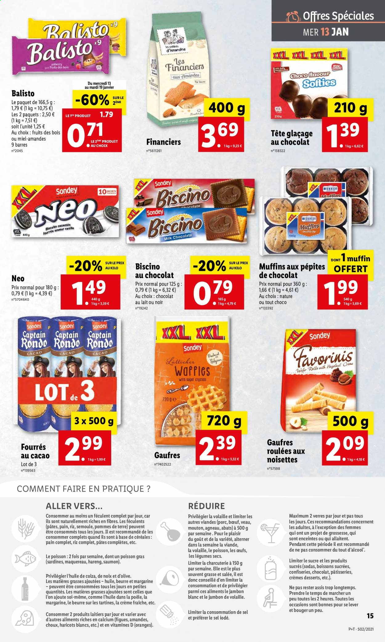 Catalogue Lidl - 13.01.2021 - 19.01.2021. Page 15.