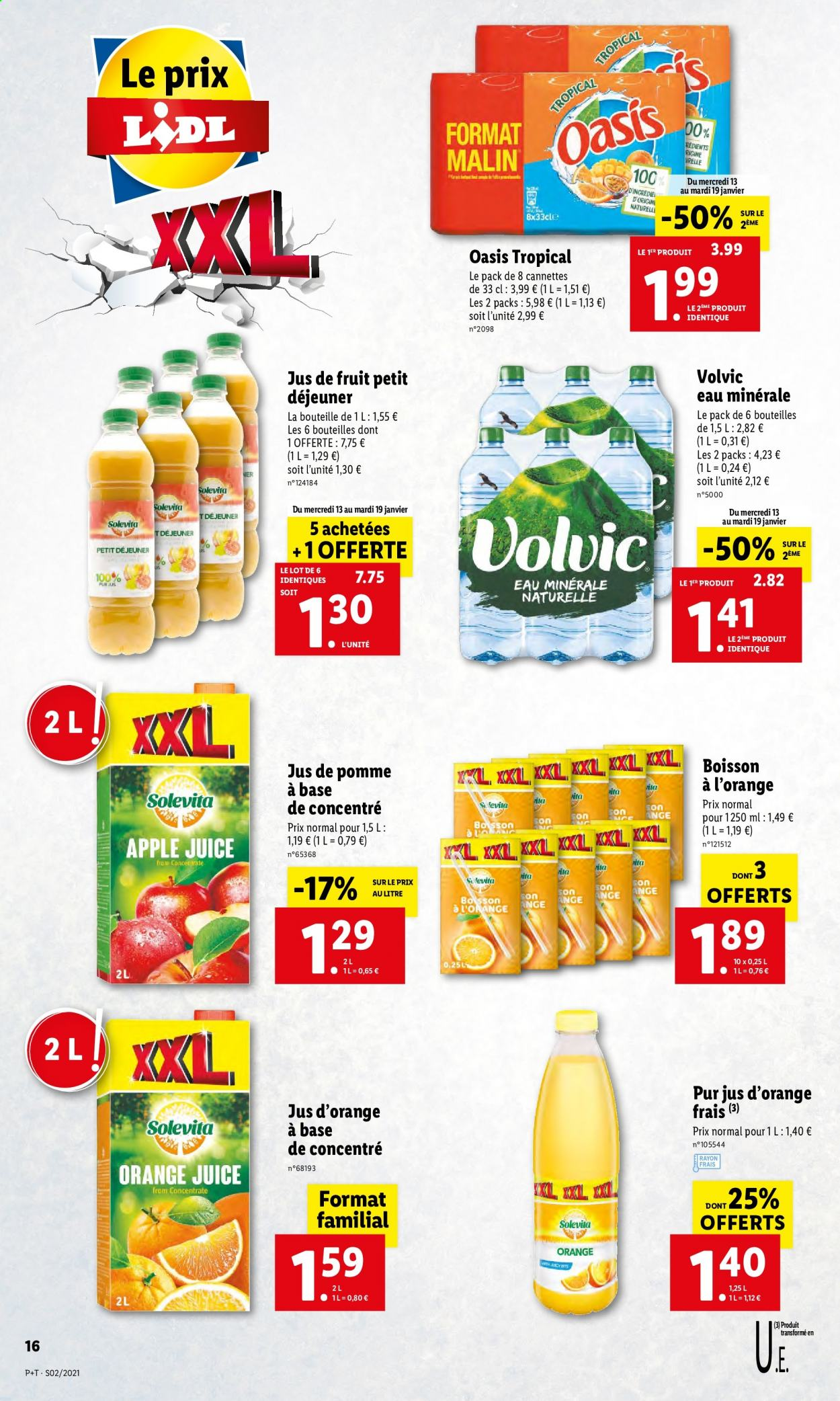 Catalogue Lidl - 13.01.2021 - 19.01.2021. Page 16.