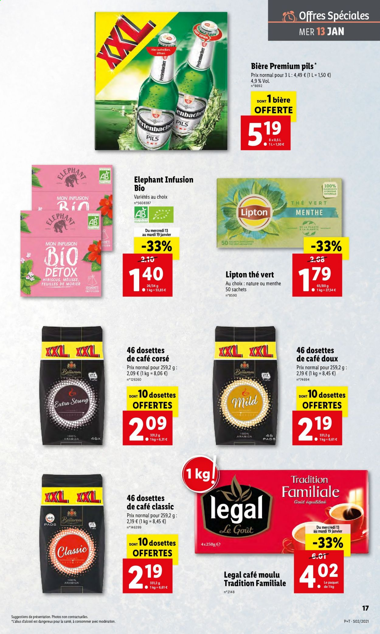 Catalogue Lidl - 13.01.2021 - 19.01.2021. Page 17.