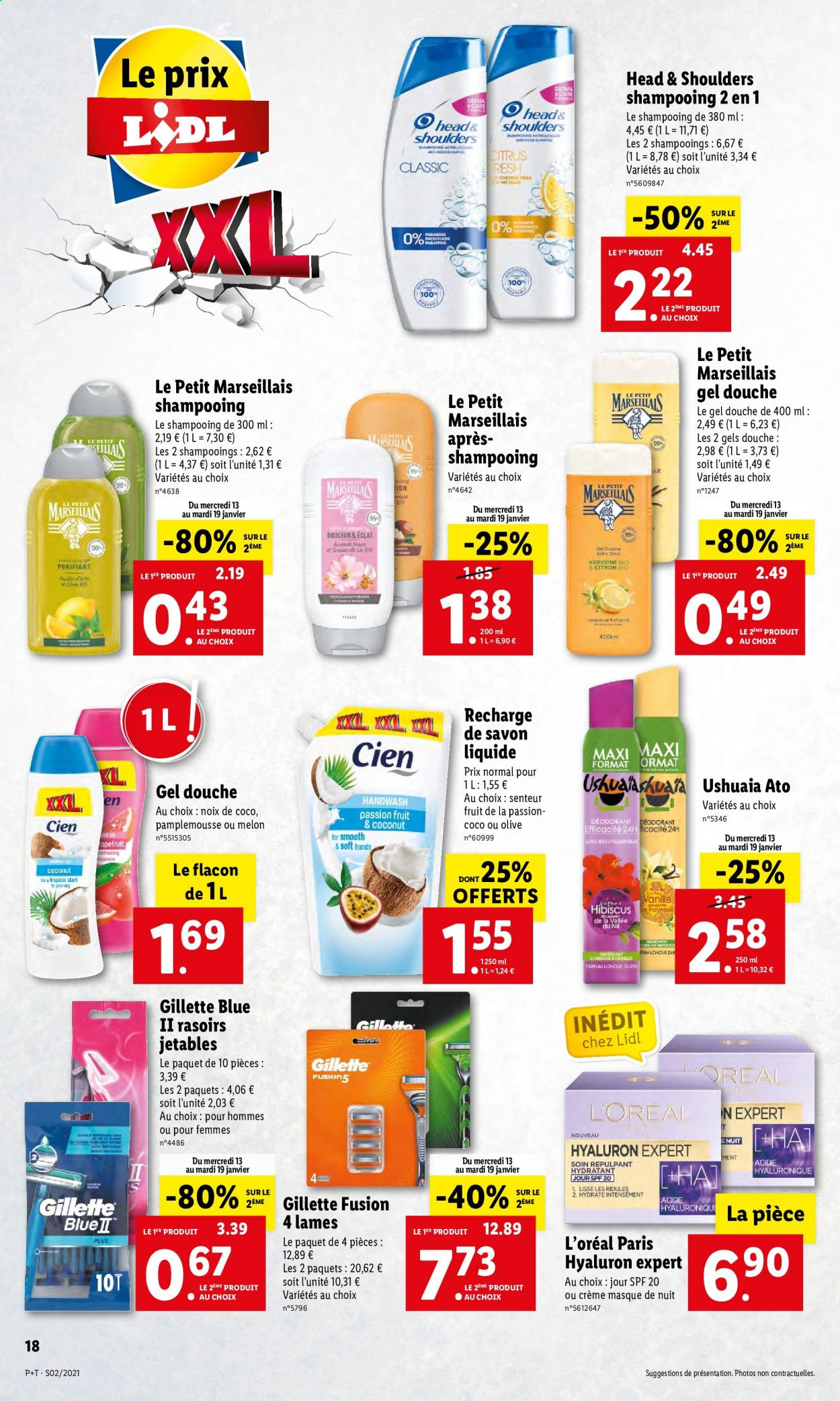 Catalogue Lidl - 13.01.2021 - 19.01.2021. Page 18.