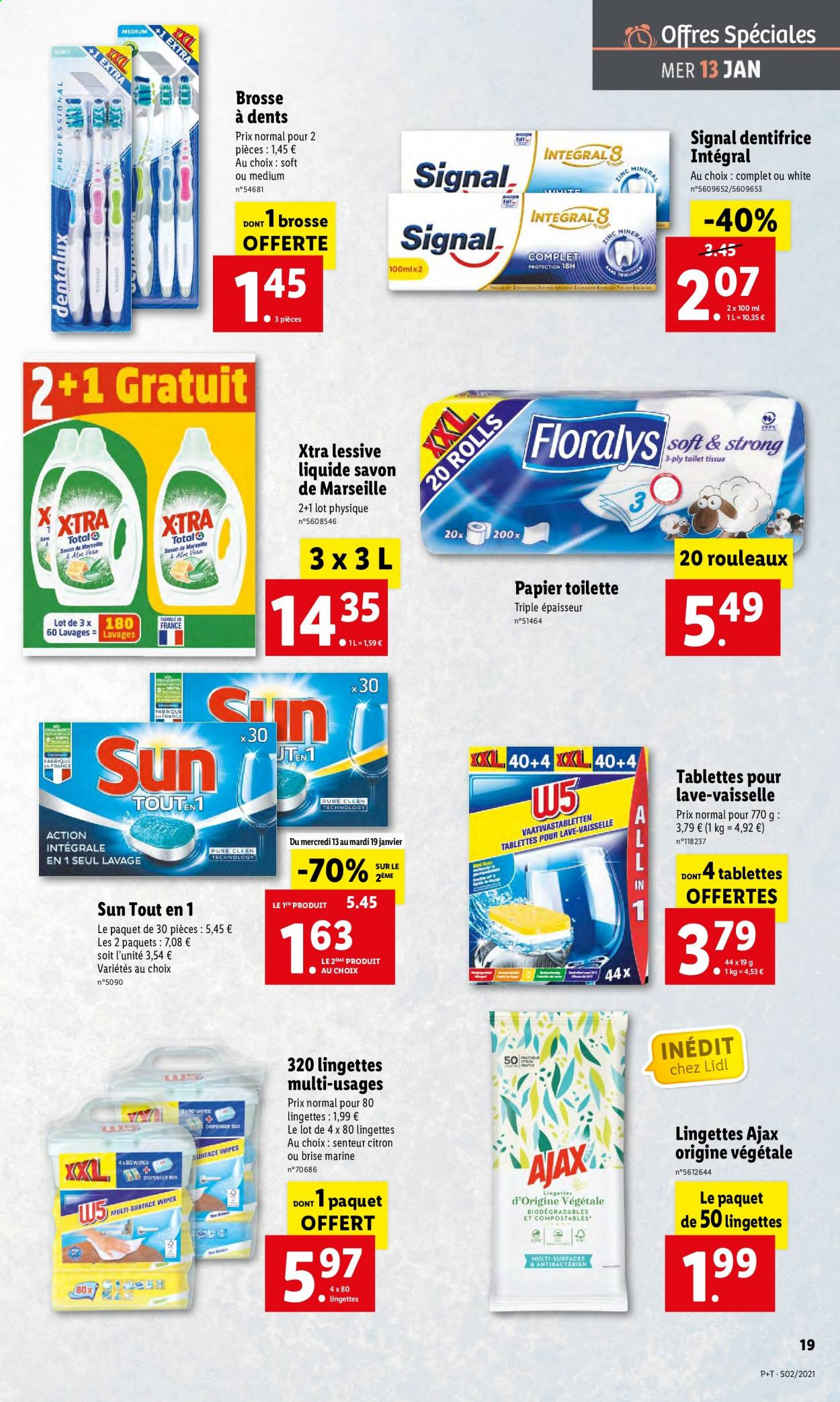 Catalogue Lidl - 13.01.2021 - 19.01.2021. Page 19.