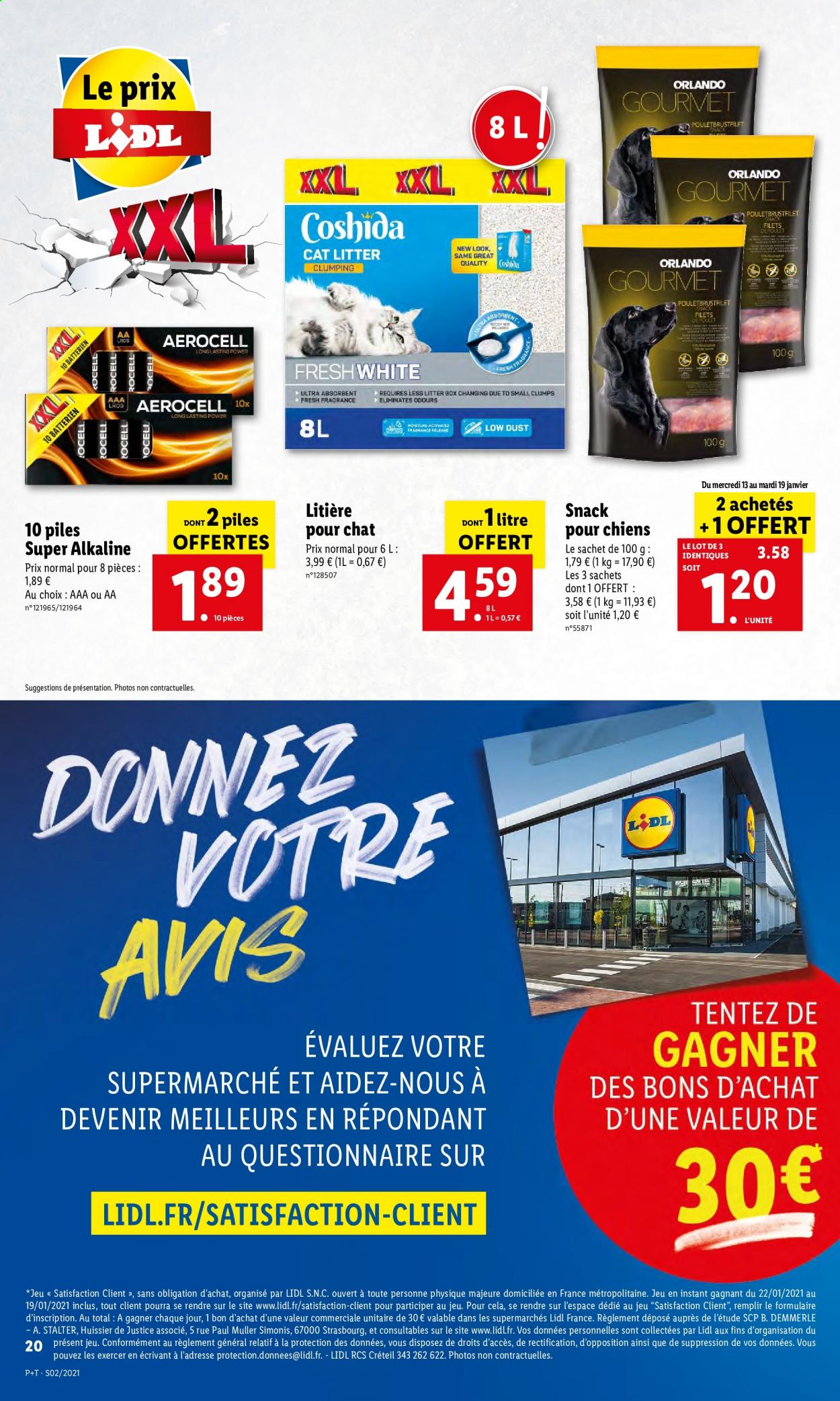 Catalogue Lidl - 13.01.2021 - 19.01.2021. Page 20.