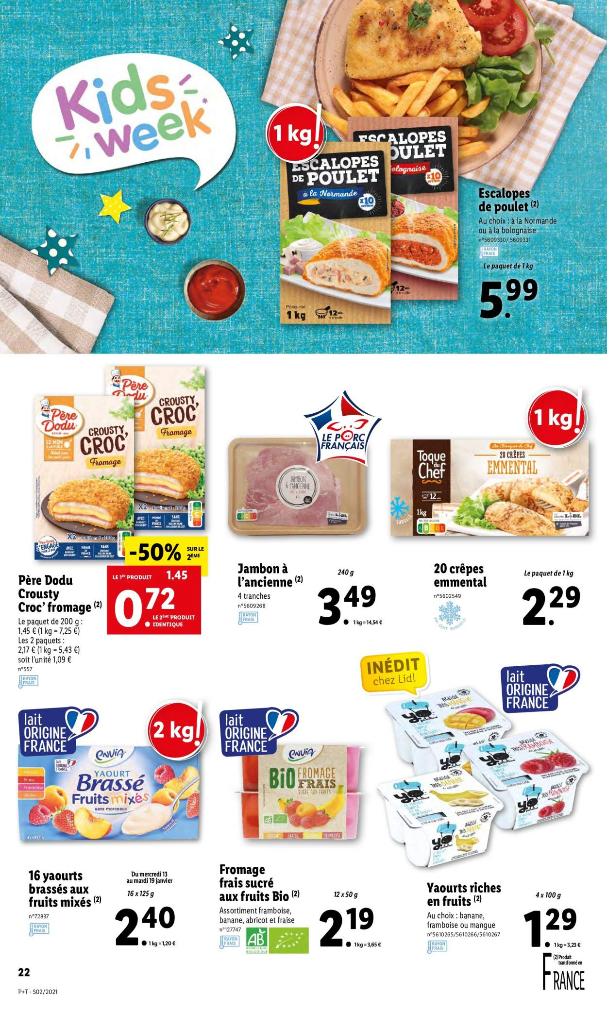 Catalogue Lidl - 13.01.2021 - 19.01.2021. Page 22.