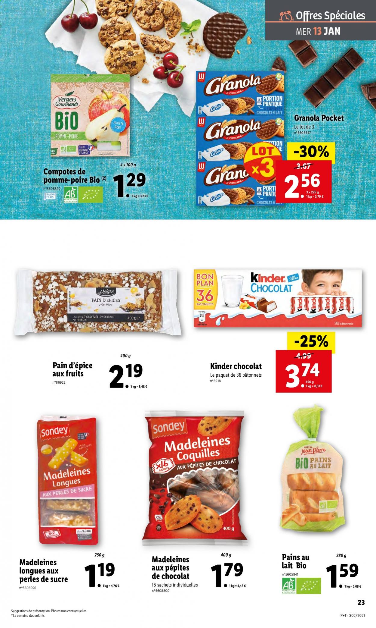Catalogue Lidl - 13.01.2021 - 19.01.2021. Page 23.