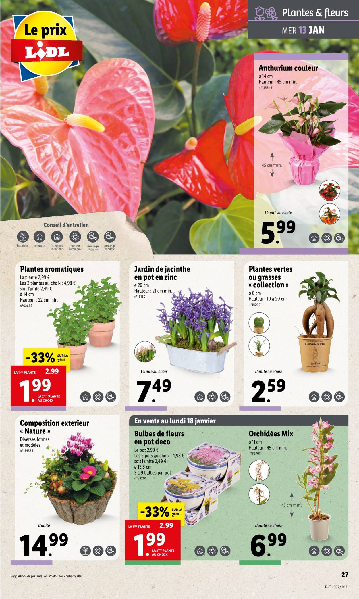 Catalogue Lidl - 13.01.2021 - 19.01.2021. Page 27.