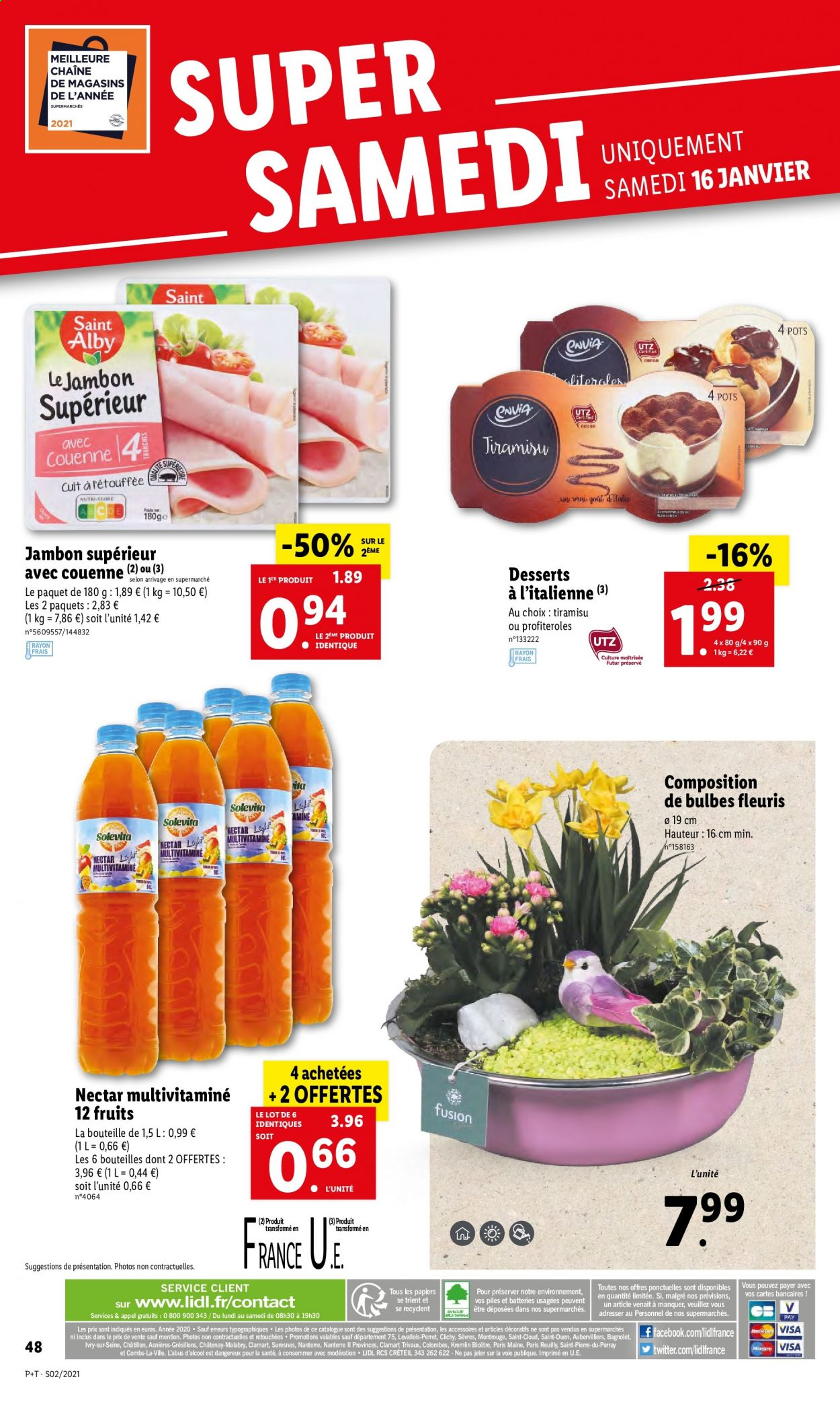Catalogue Lidl - 13.01.2021 - 19.01.2021. Page 48.