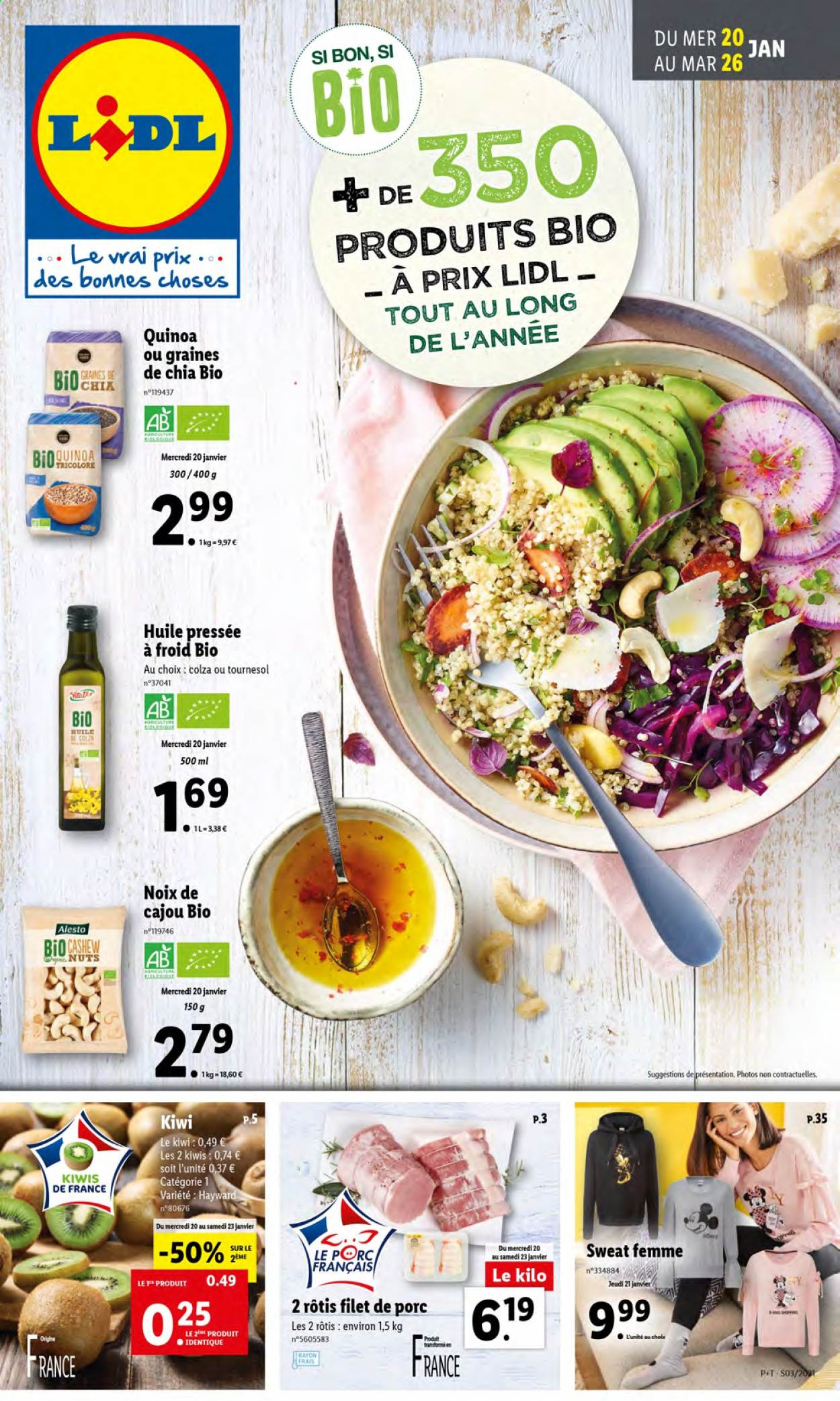 Catalogue Lidl - 20.01.2021 - 26.01.2021. Page 1.