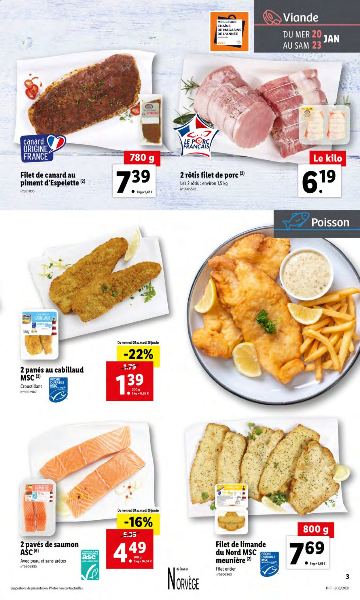 Catalogue Lidl - 20.01.2021 - 26.01.2021. Page 3.