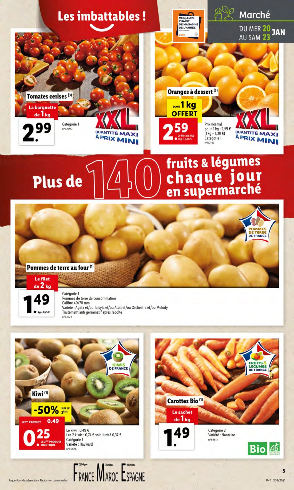 Catalogue Lidl - 20.01.2021 - 26.01.2021. Page 5.