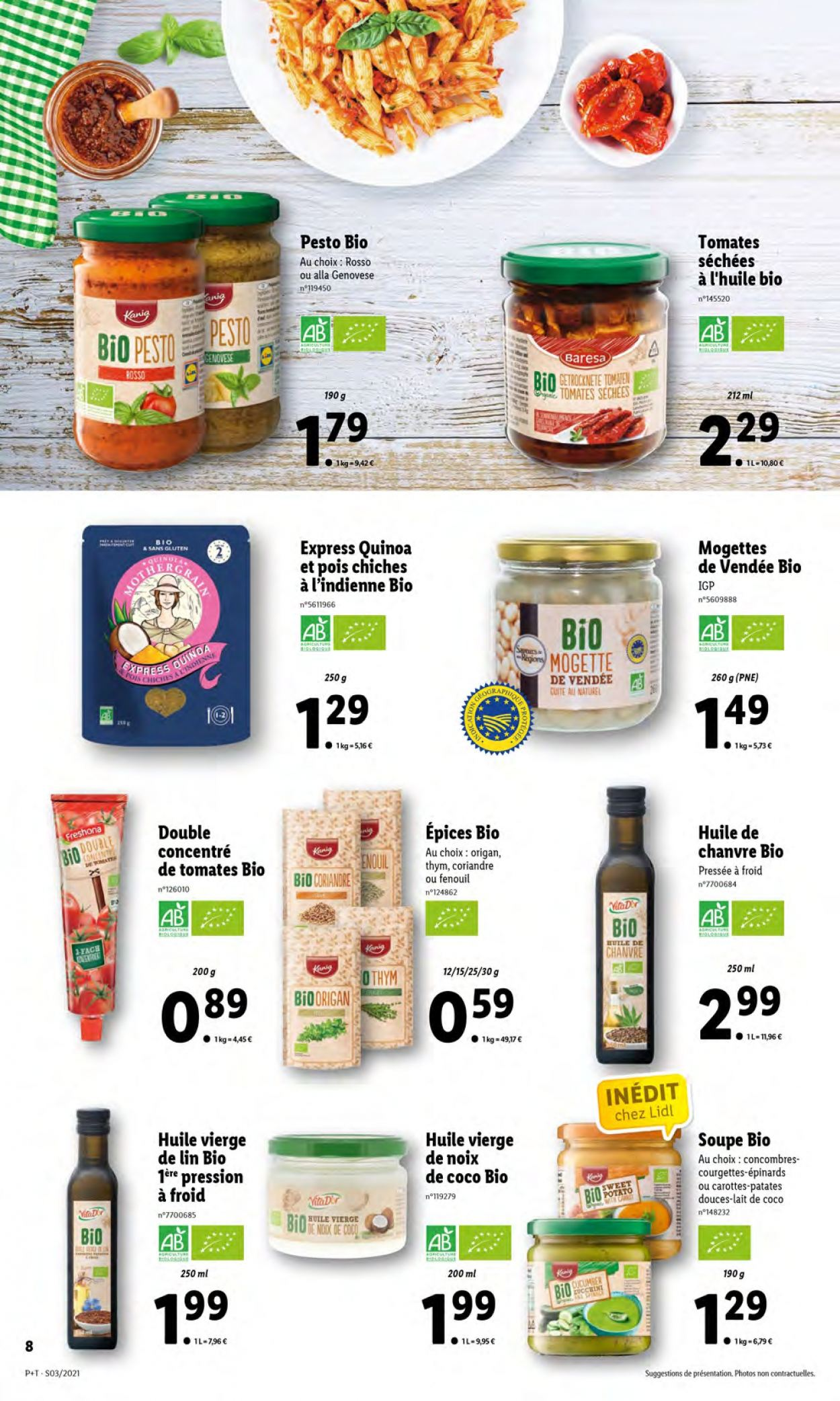 Catalogue Lidl - 20.01.2021 - 26.01.2021. Page 8.