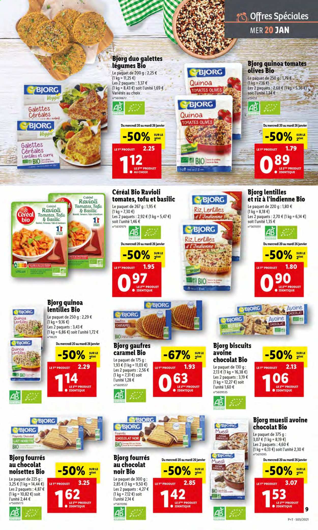 Catalogue Lidl - 20.01.2021 - 26.01.2021. Page 9.