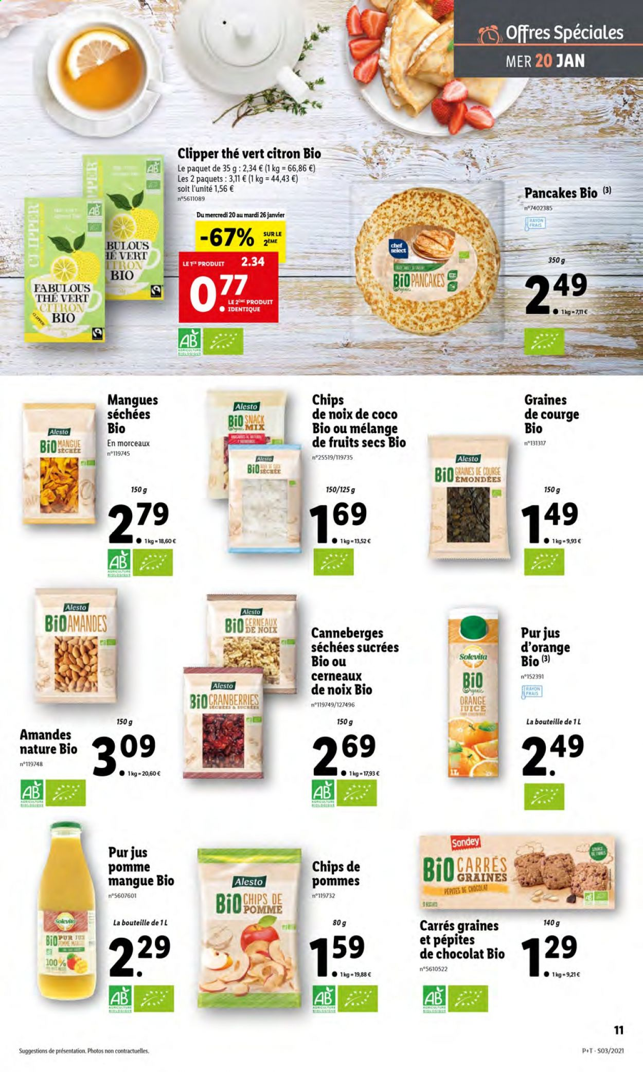 Catalogue Lidl - 20.01.2021 - 26.01.2021. Page 11.