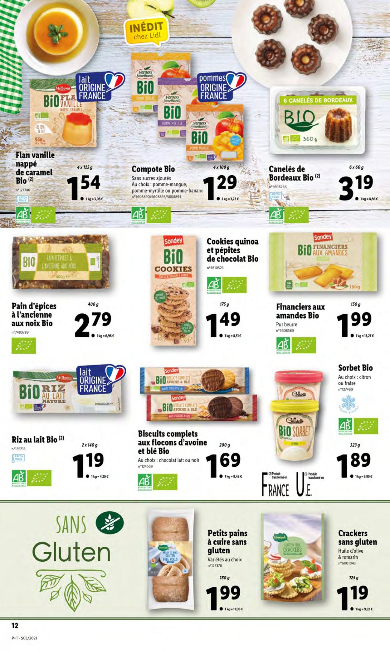 Catalogue Lidl - 20.01.2021 - 26.01.2021. Page 12.