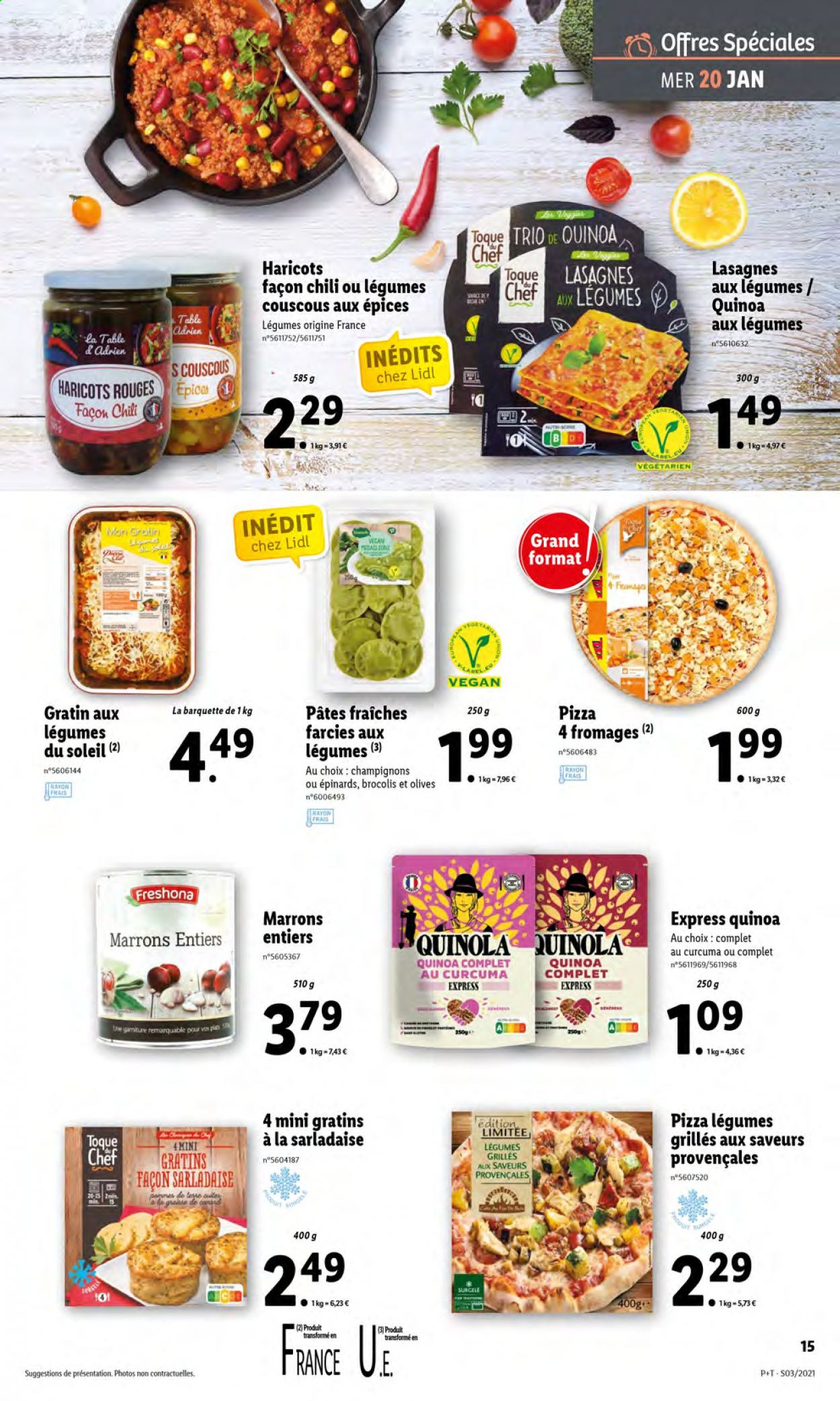 Catalogue Lidl - 20.01.2021 - 26.01.2021. Page 15.