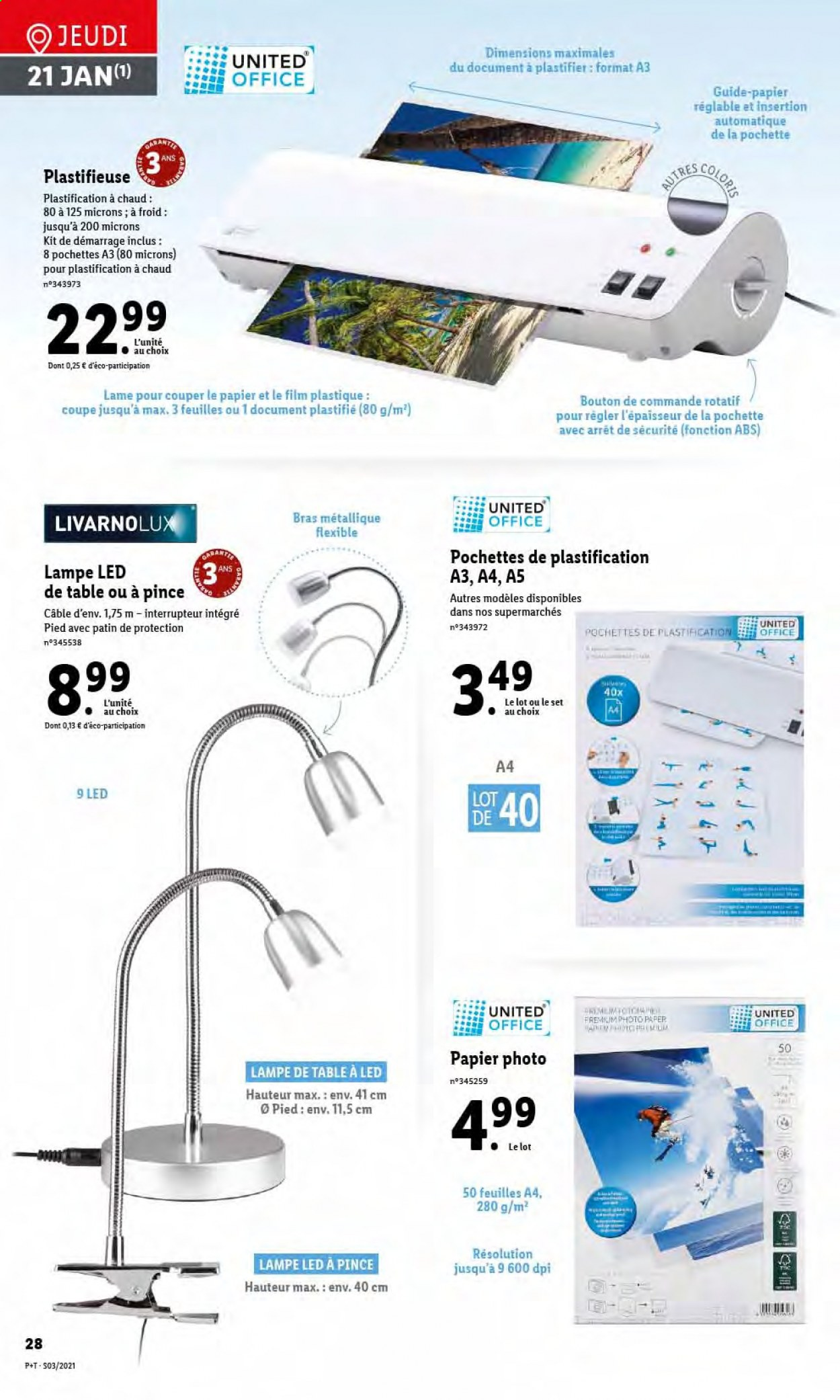 Catalogue Lidl - 20.01.2021 - 26.01.2021. Page 30.