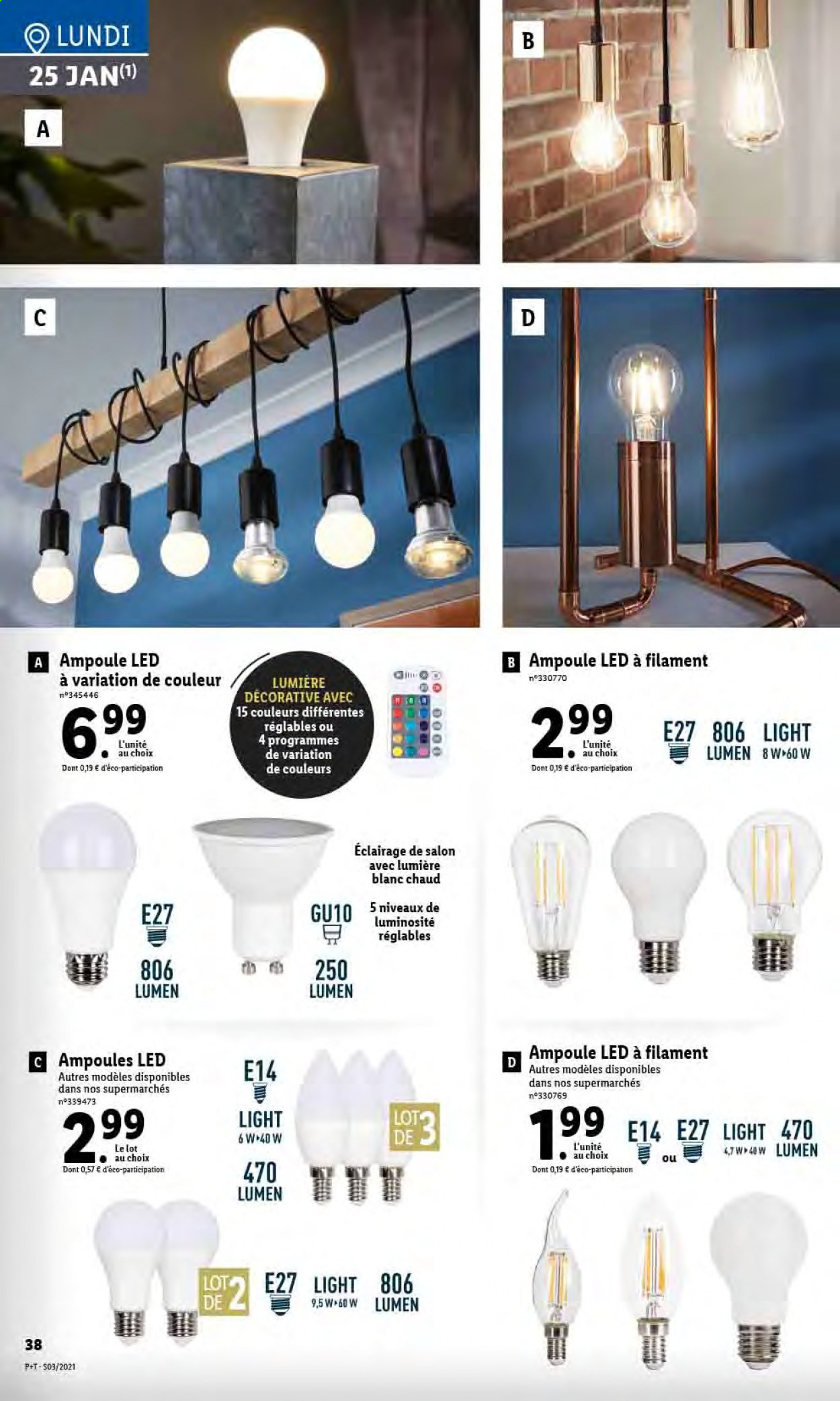 Catalogue Lidl - 20.01.2021 - 26.01.2021. Page 40.