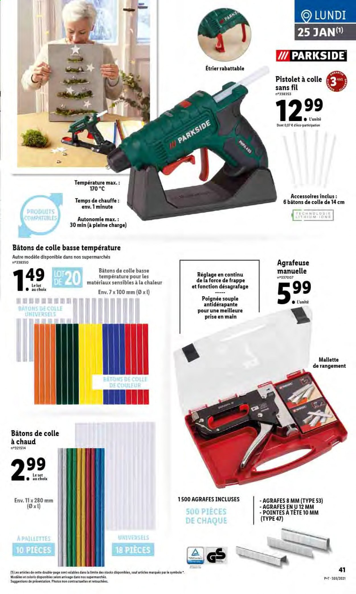 Catalogue Lidl - 20.01.2021 - 26.01.2021. Page 43.