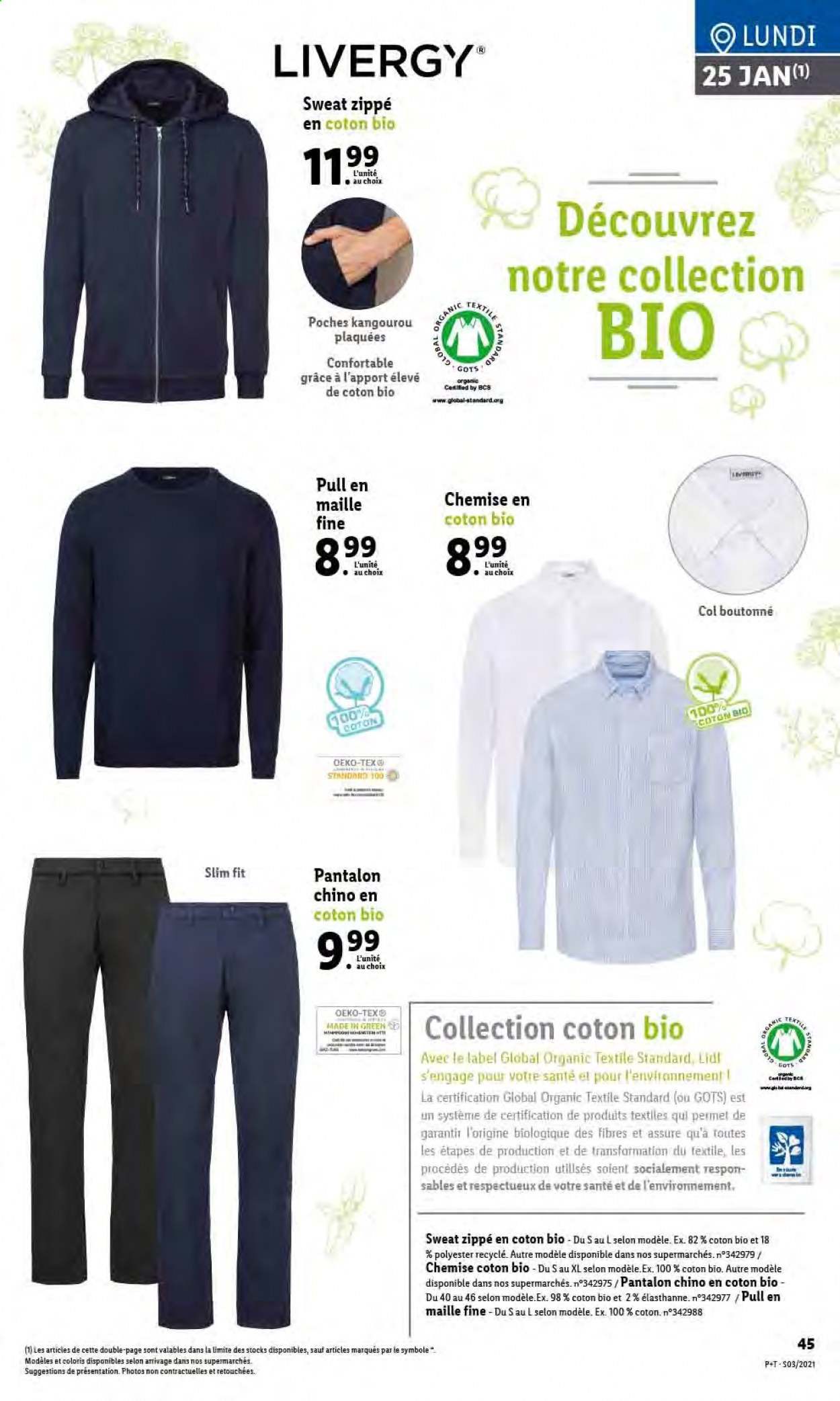 Catalogue Lidl - 20.01.2021 - 26.01.2021. Page 47.