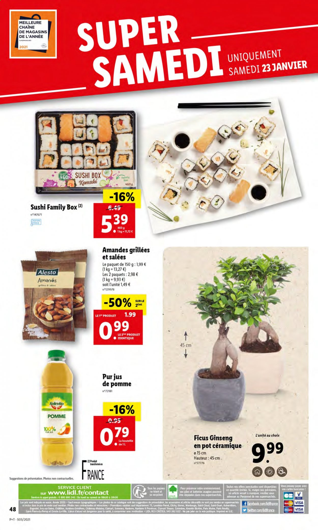 Catalogue Lidl - 20.01.2021 - 26.01.2021. Page 50.