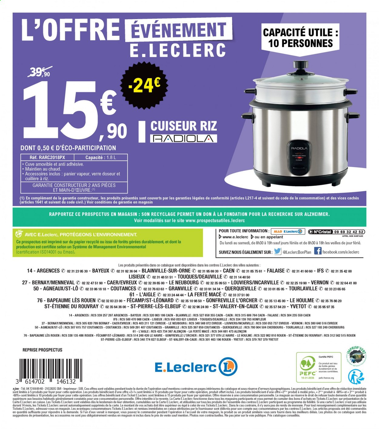 Catalogue E.Leclerc - 09.02.2021 - 13.02.2021. Page 24.