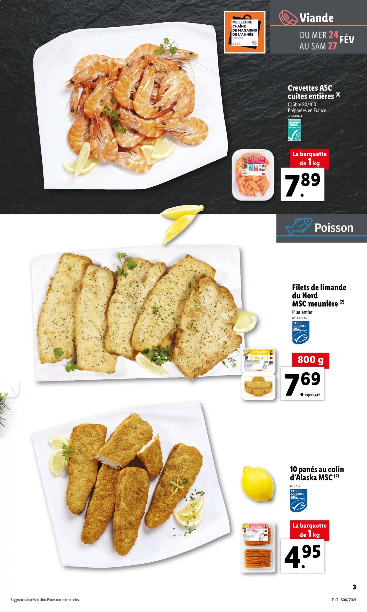 Catalogue Lidl - 24.02.2021 - 02.03.2021. Page 3.