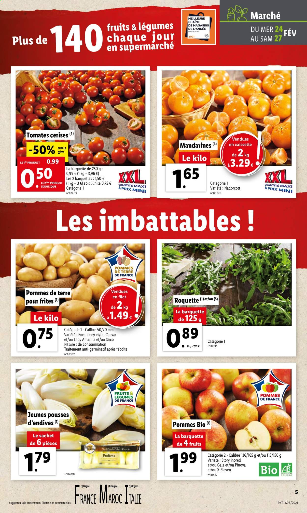 Catalogue Lidl - 24.02.2021 - 02.03.2021. Page 5.