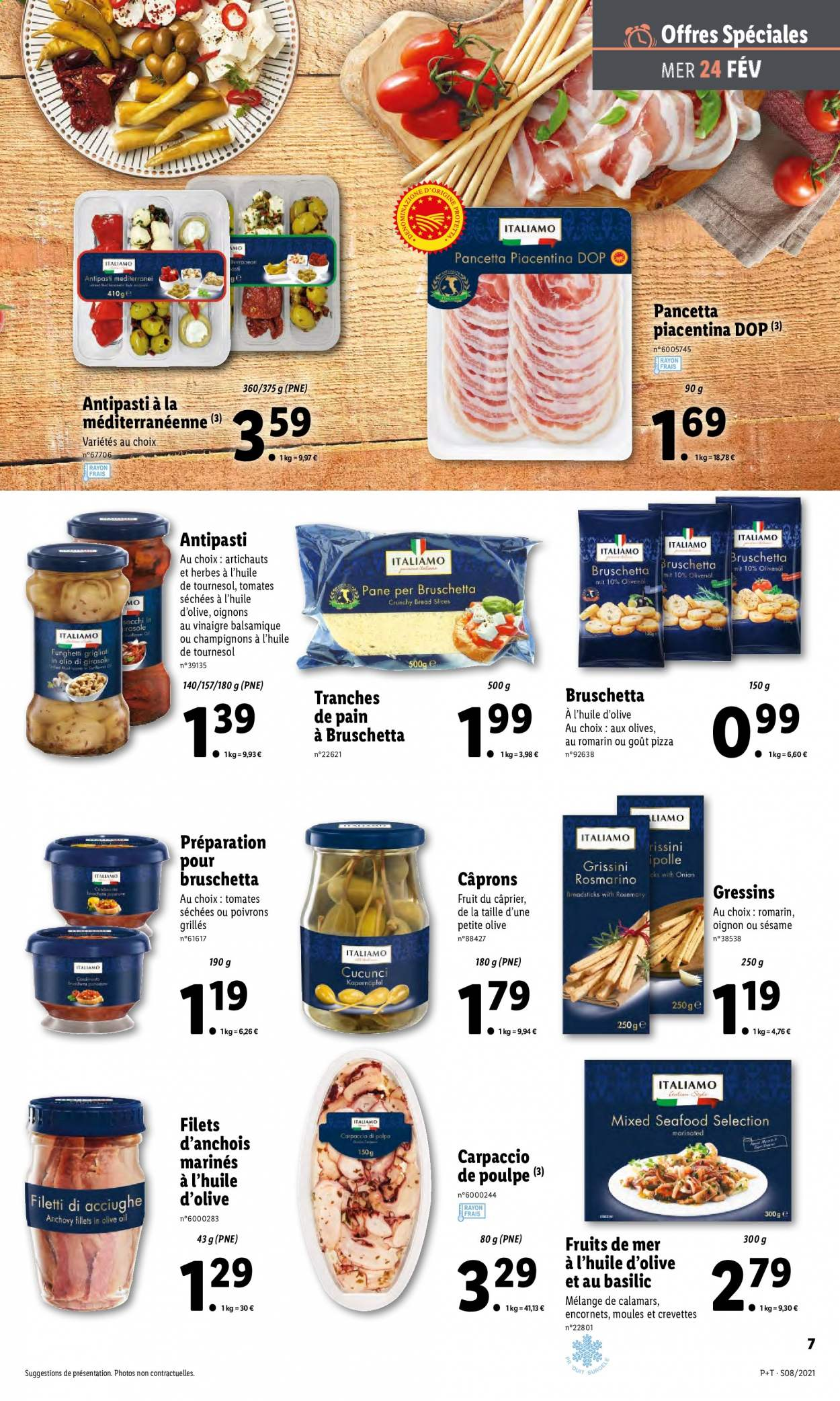 Catalogue Lidl - 24.02.2021 - 02.03.2021. Page 7.